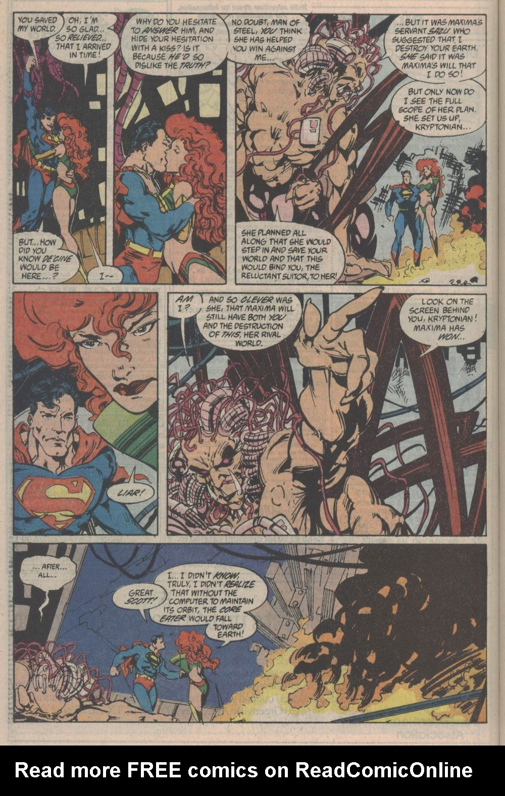 Read online Adventures of Superman (1987) comic -  Issue #Adventures of Superman (1987) _Annual 3 - 52