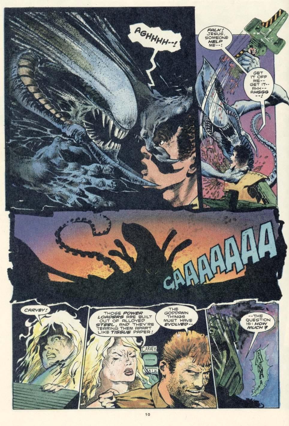 Read online Aliens: Earth War comic -  Issue #3 - 12