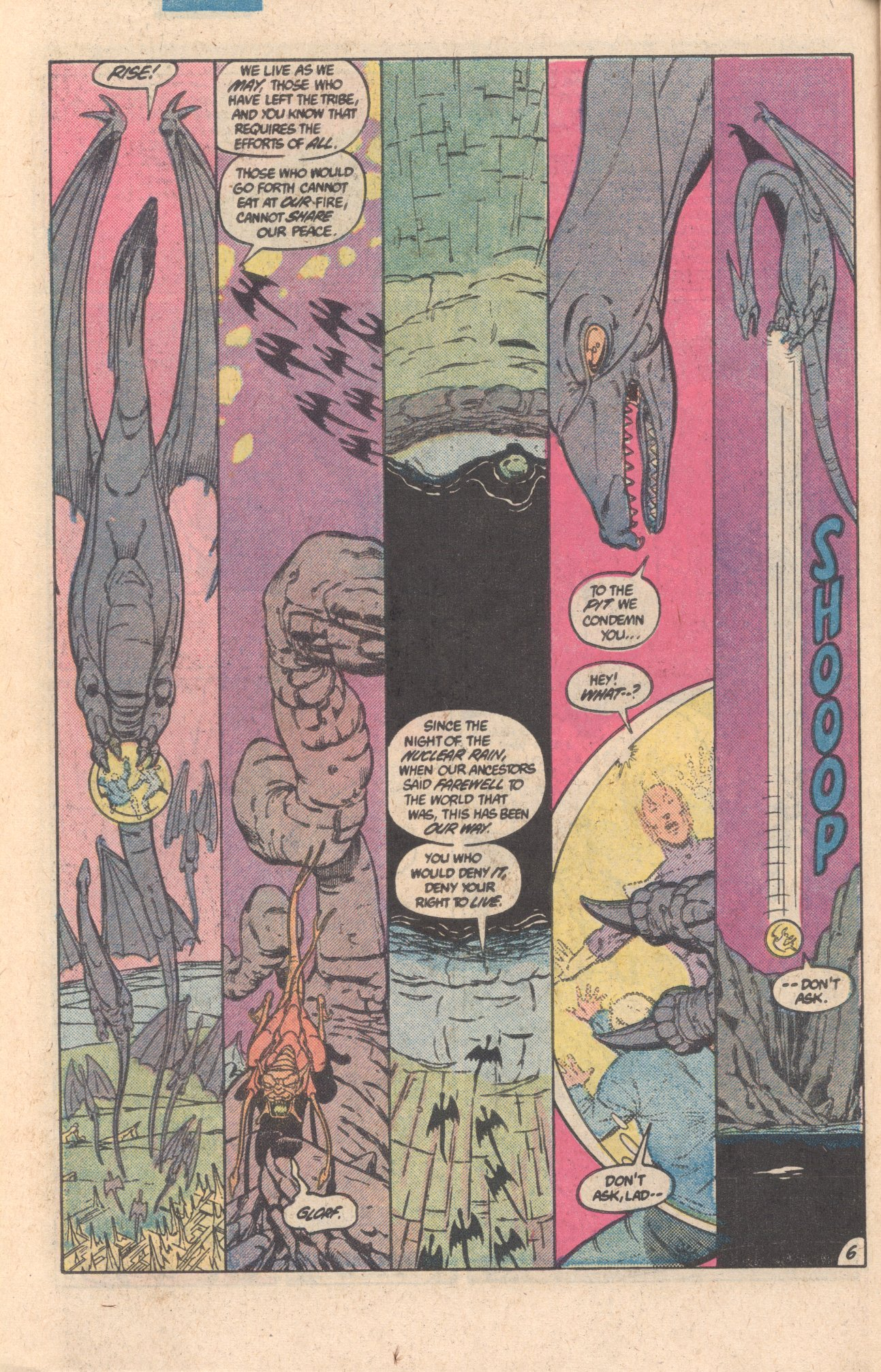 Legion of Super-Heroes (1980) 301 Page 6