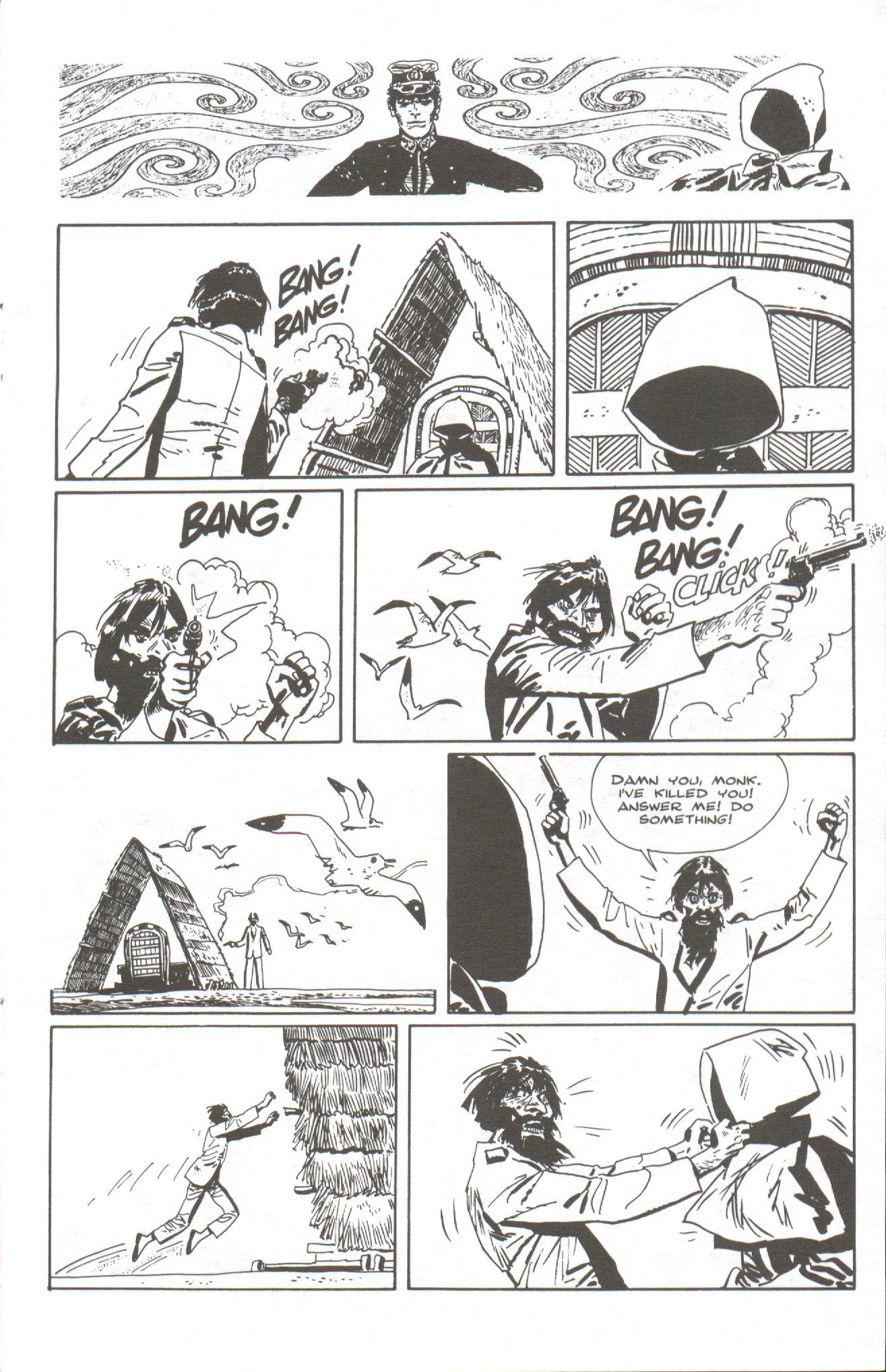 Read online Corto Maltese: Ballad of the Salt Sea comic -  Issue #5 - 13