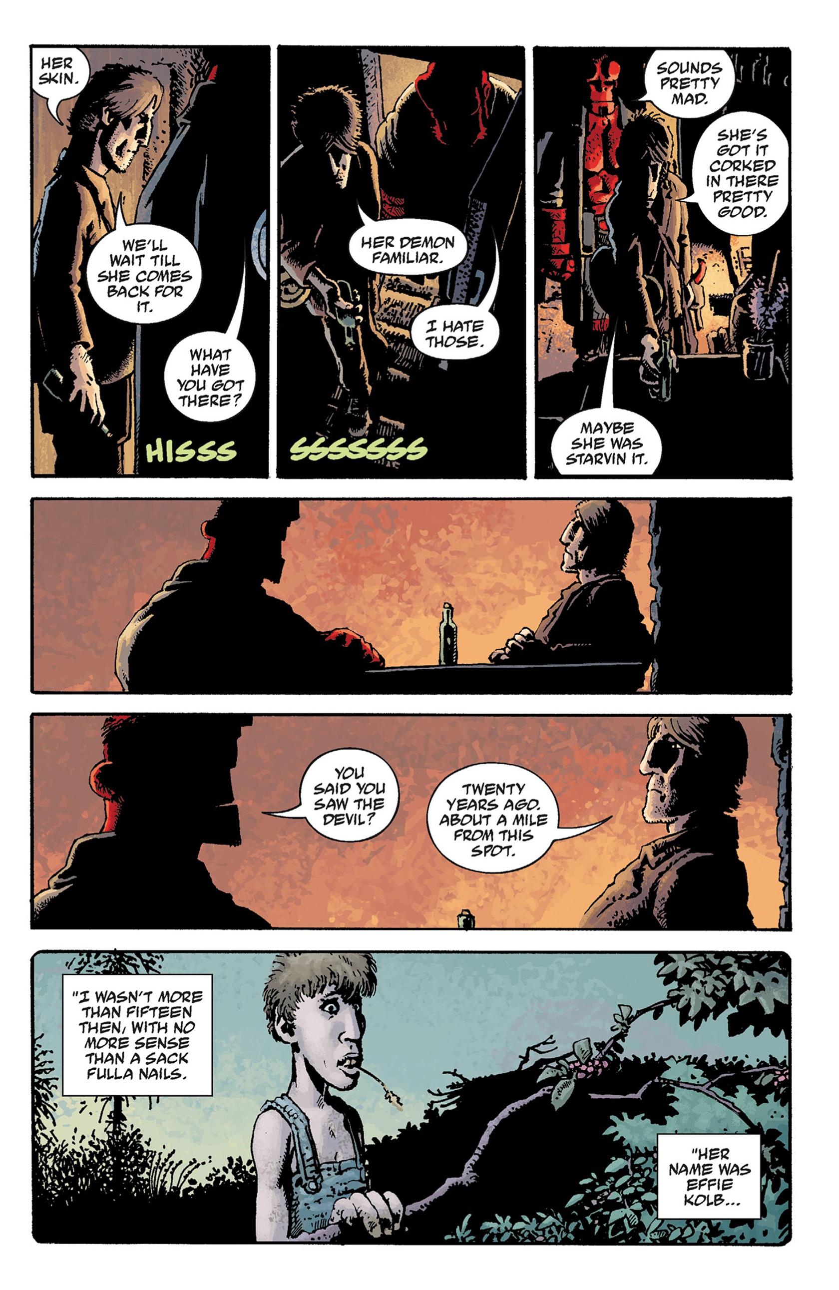 Read online Hellboy: The Crooked Man and Others comic -  Issue # TPB - 19