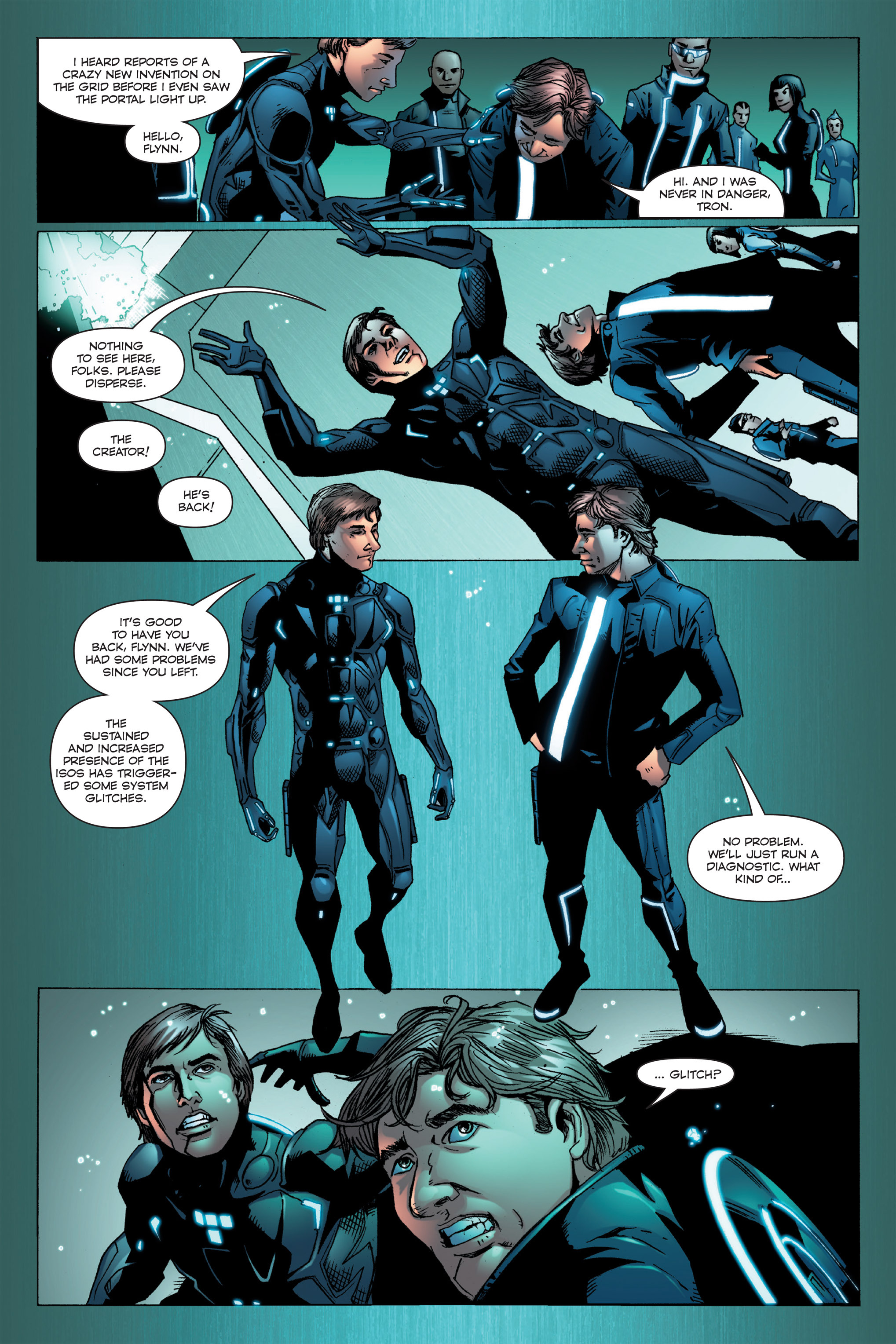 Read online TRON: Betrayal comic -  Issue # TPB - 52