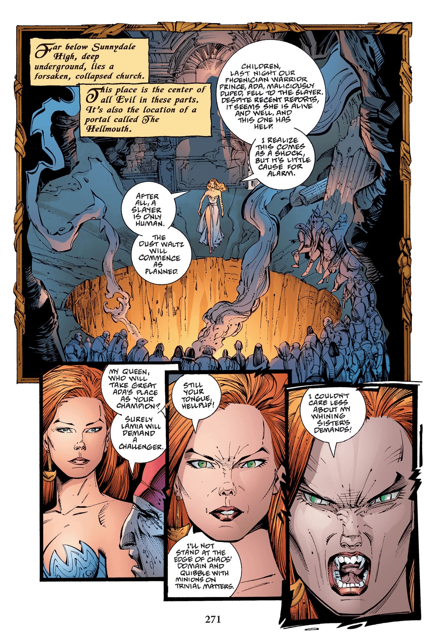 Read online Buffy the Vampire Slayer: Omnibus comic -  Issue # TPB 2 - 263