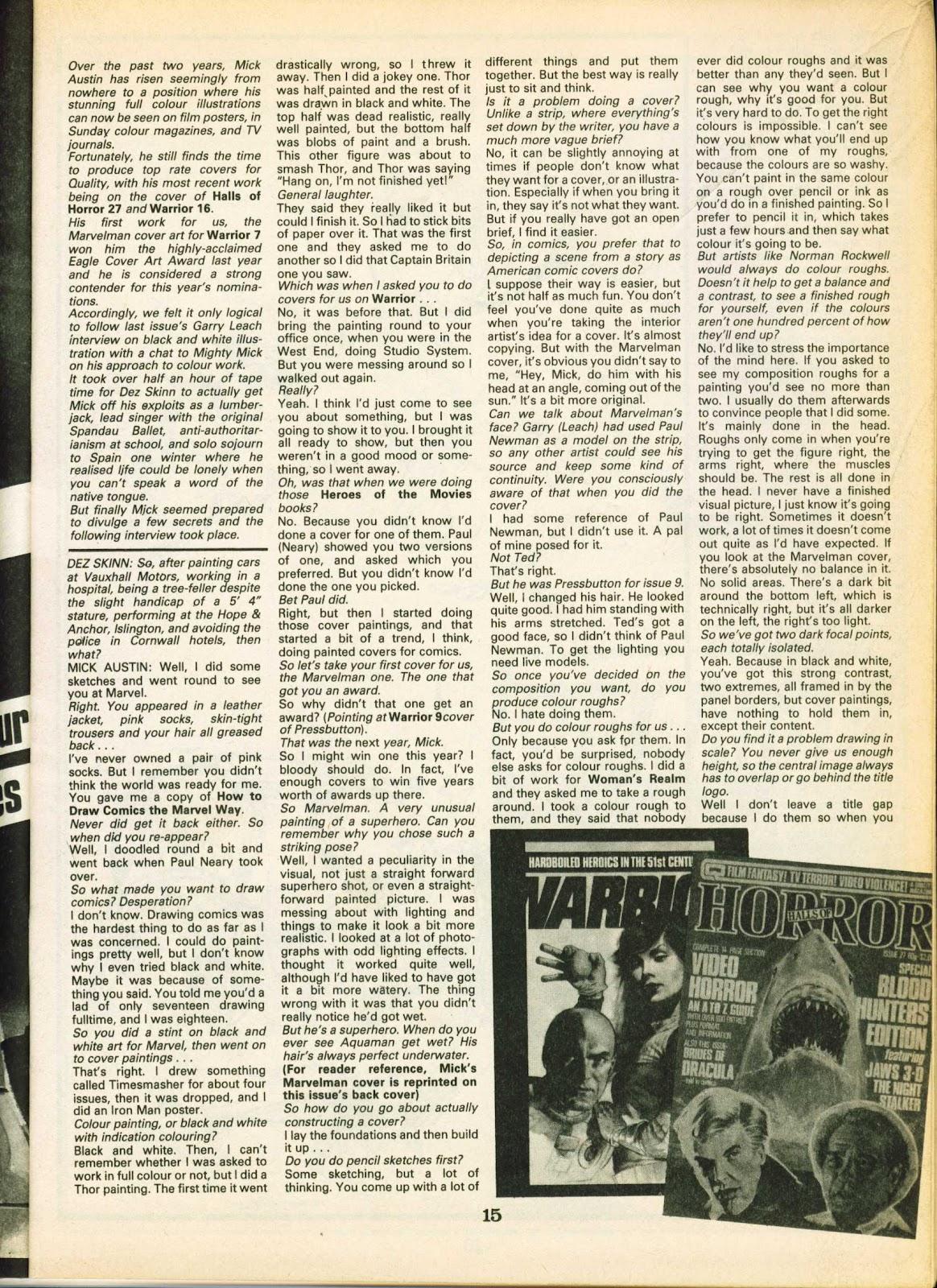 Warrior Issue #19 #20 - English 15