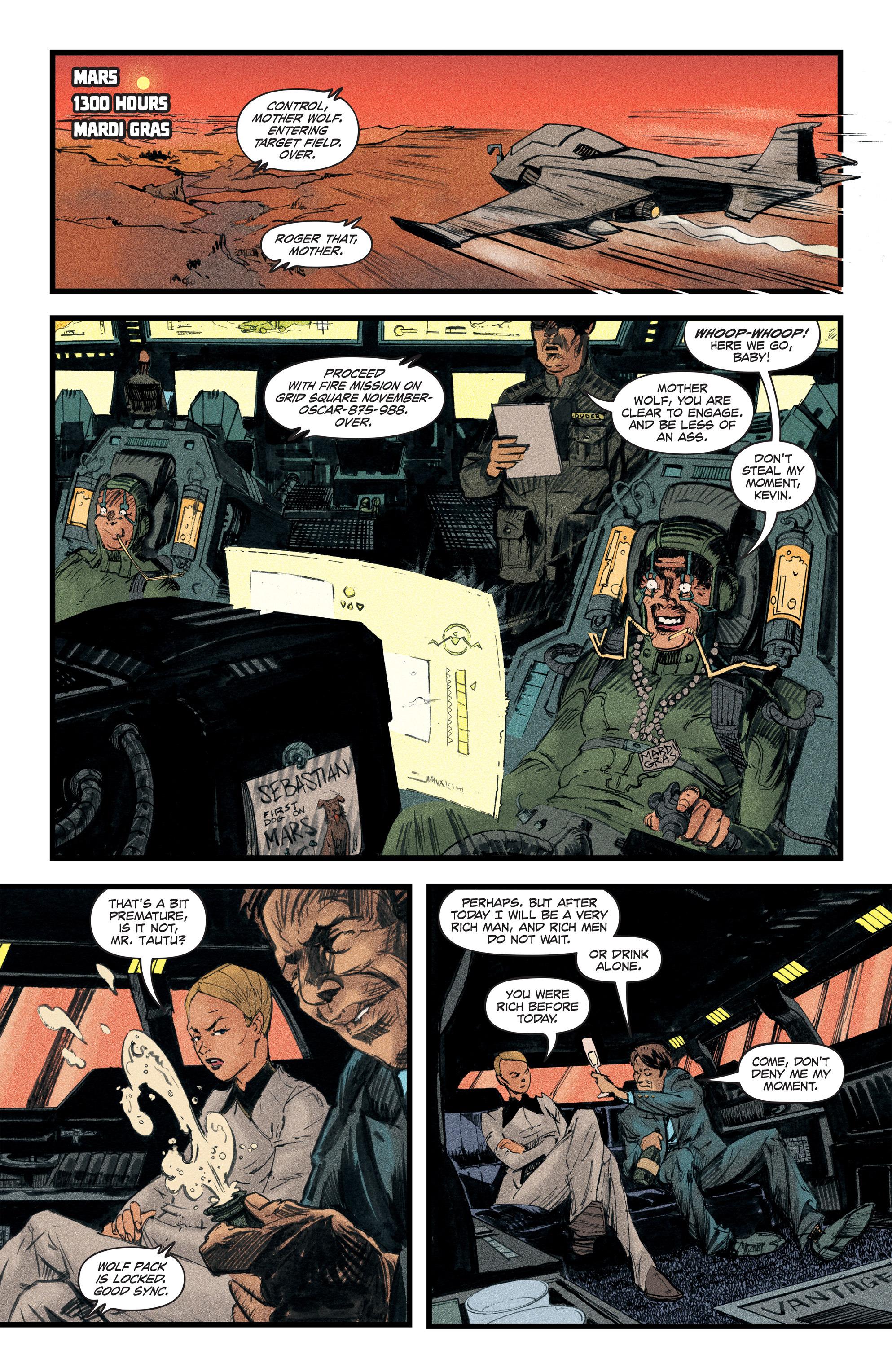 Read online Redline comic -  Issue #2 - 3