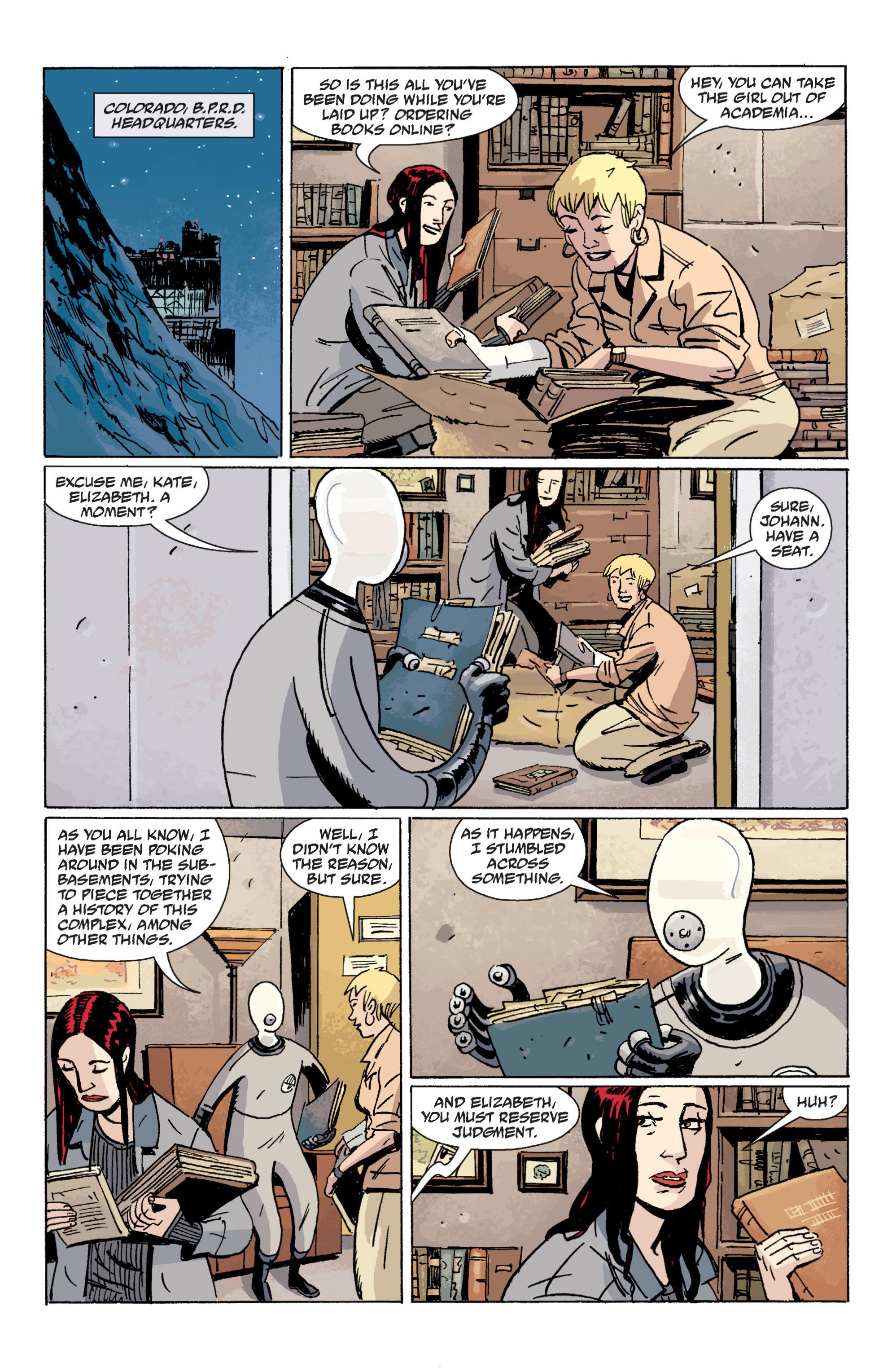 Read online B.P.R.D. (2003) comic -  Issue # TPB 7 - 63