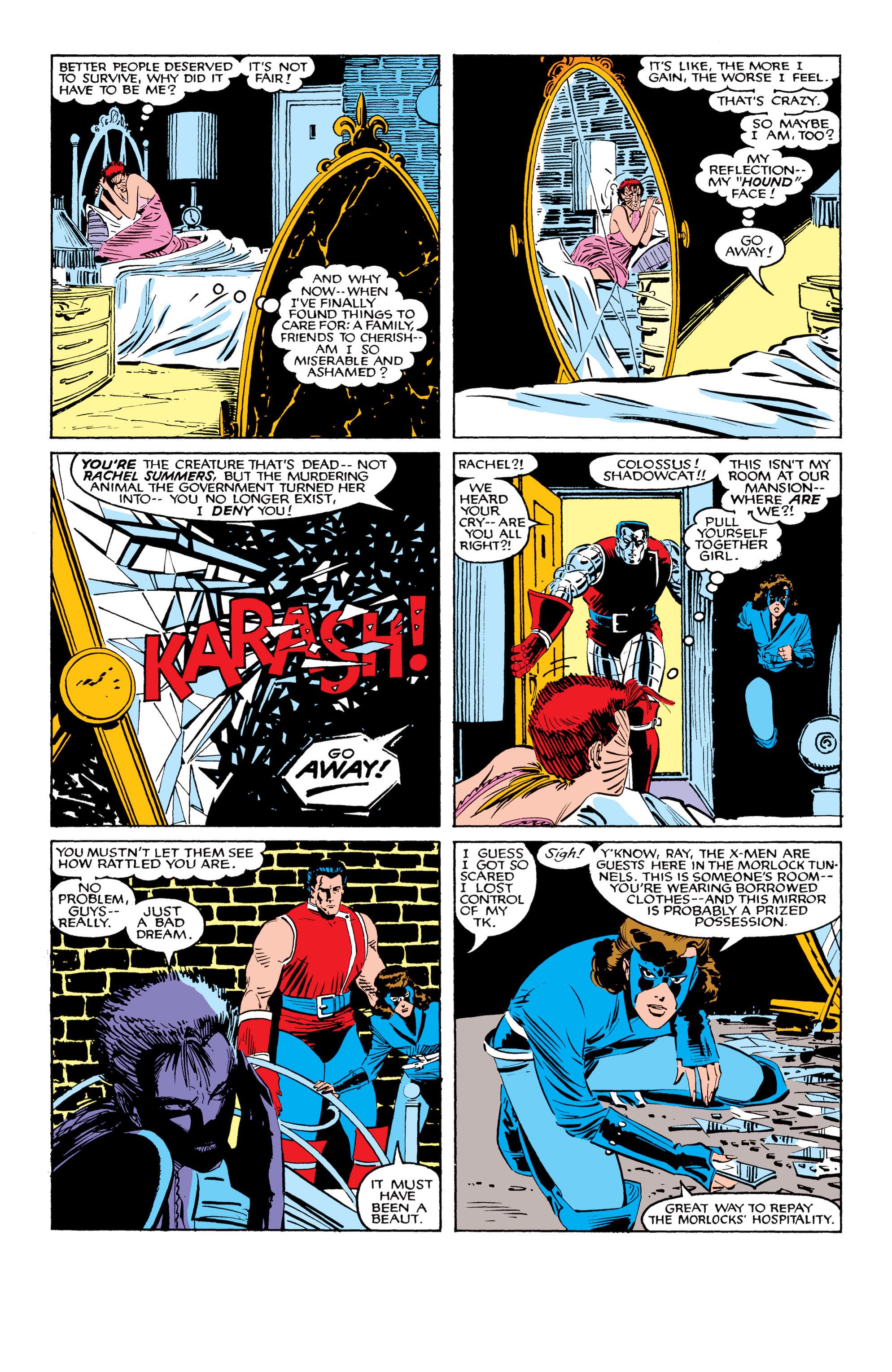 Read online Uncanny X-Men (1963) comic -  Issue #207 - 7