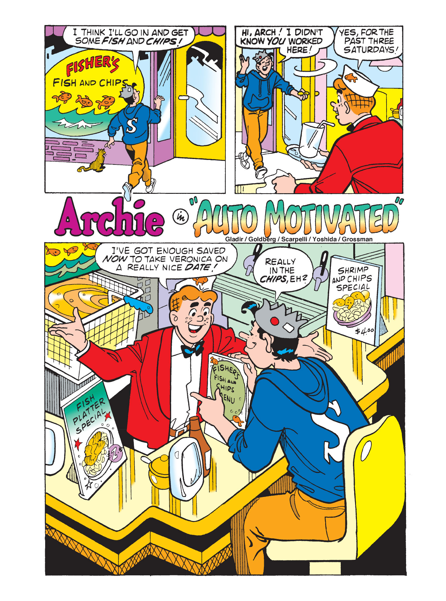 Read online Archie's Funhouse Double Digest comic -  Issue #9 - 18