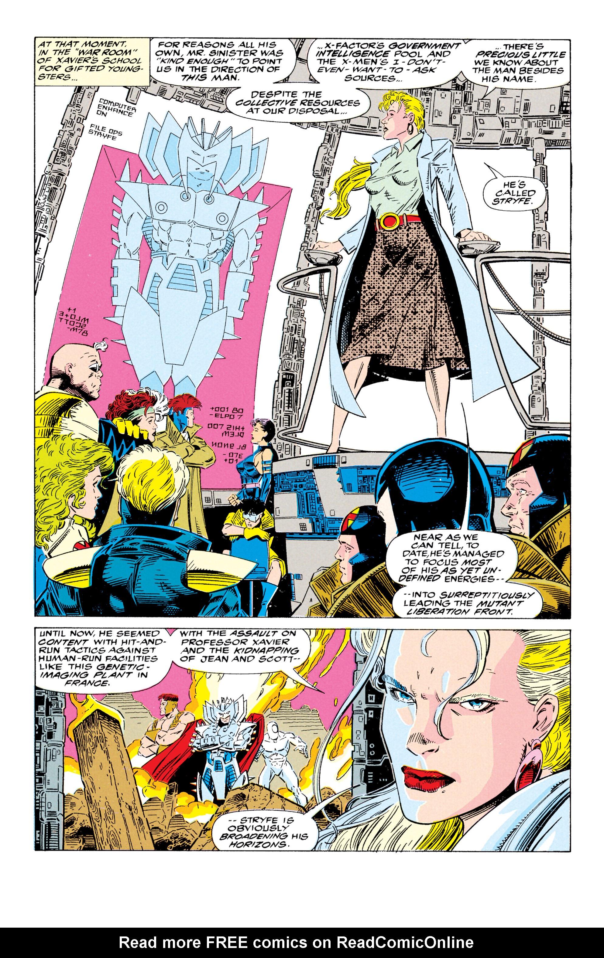 Read online Uncanny X-Men (1963) comic -  Issue #295 - 13
