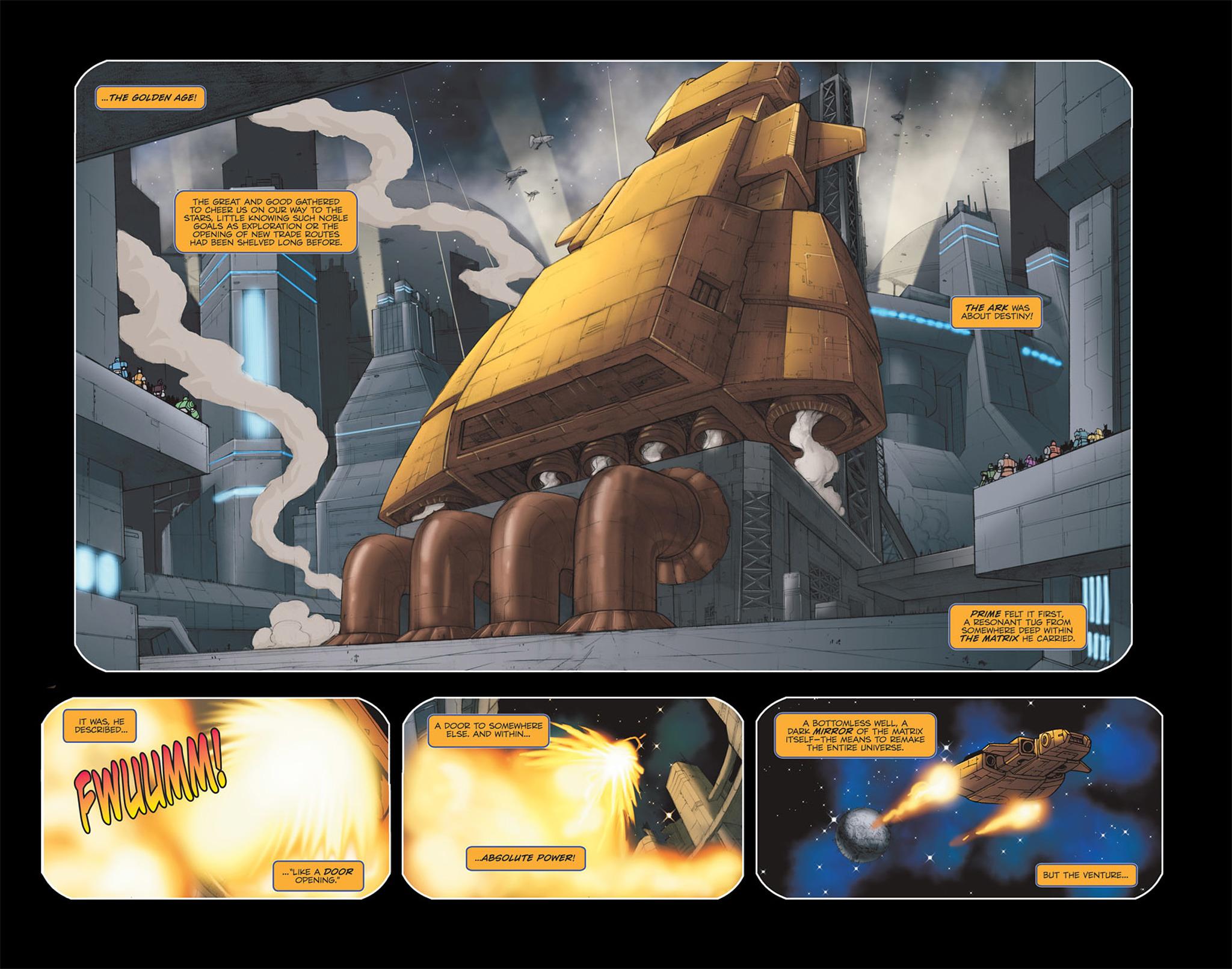 Read online Transformers Spotlight: Galvatron comic -  Issue # Full - 15