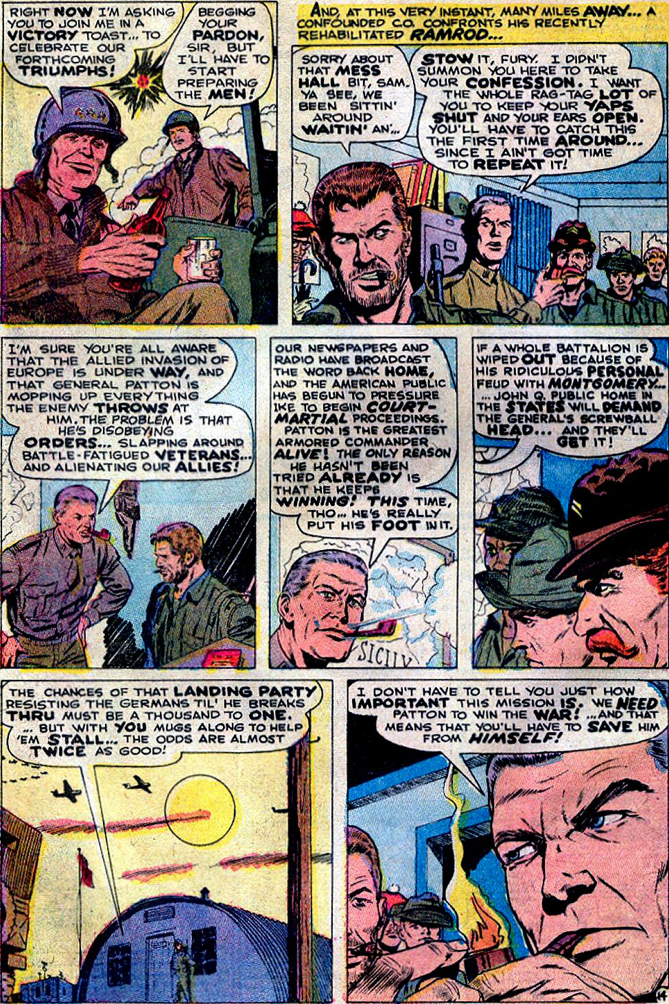 Read online Sgt. Fury comic -  Issue #88 - 20