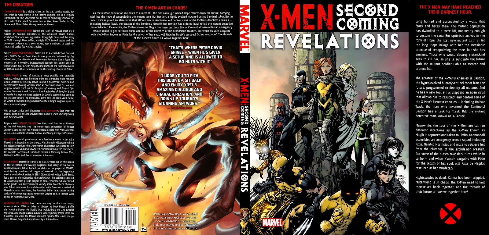 Read online X-Men: Second Coming Revelations comic -  Issue # TPB (Part 2) - 121
