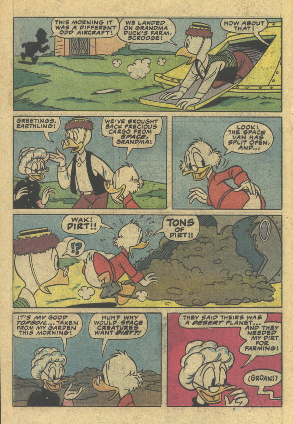 Read online Uncle Scrooge (1953) comic -  Issue #200 - 12
