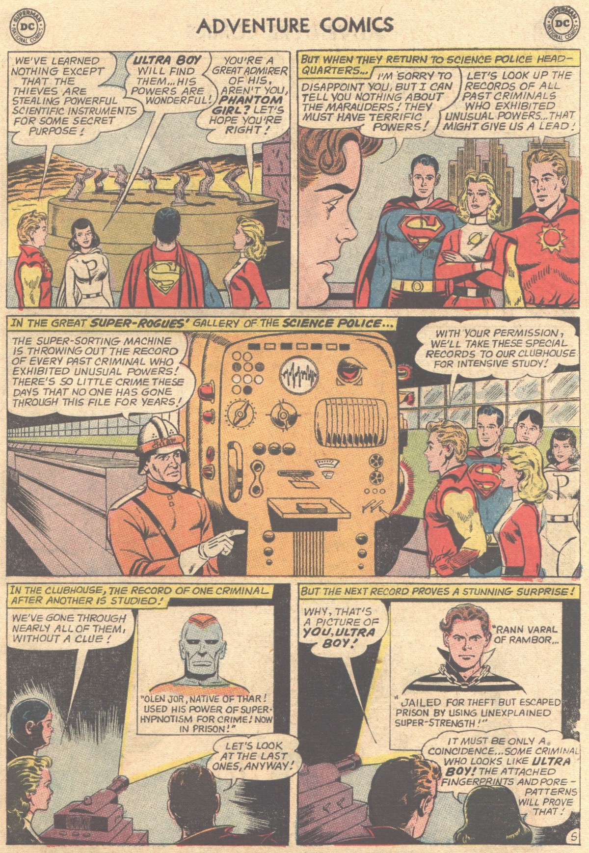 Read online Adventure Comics (1938) comic -  Issue #316 - 7