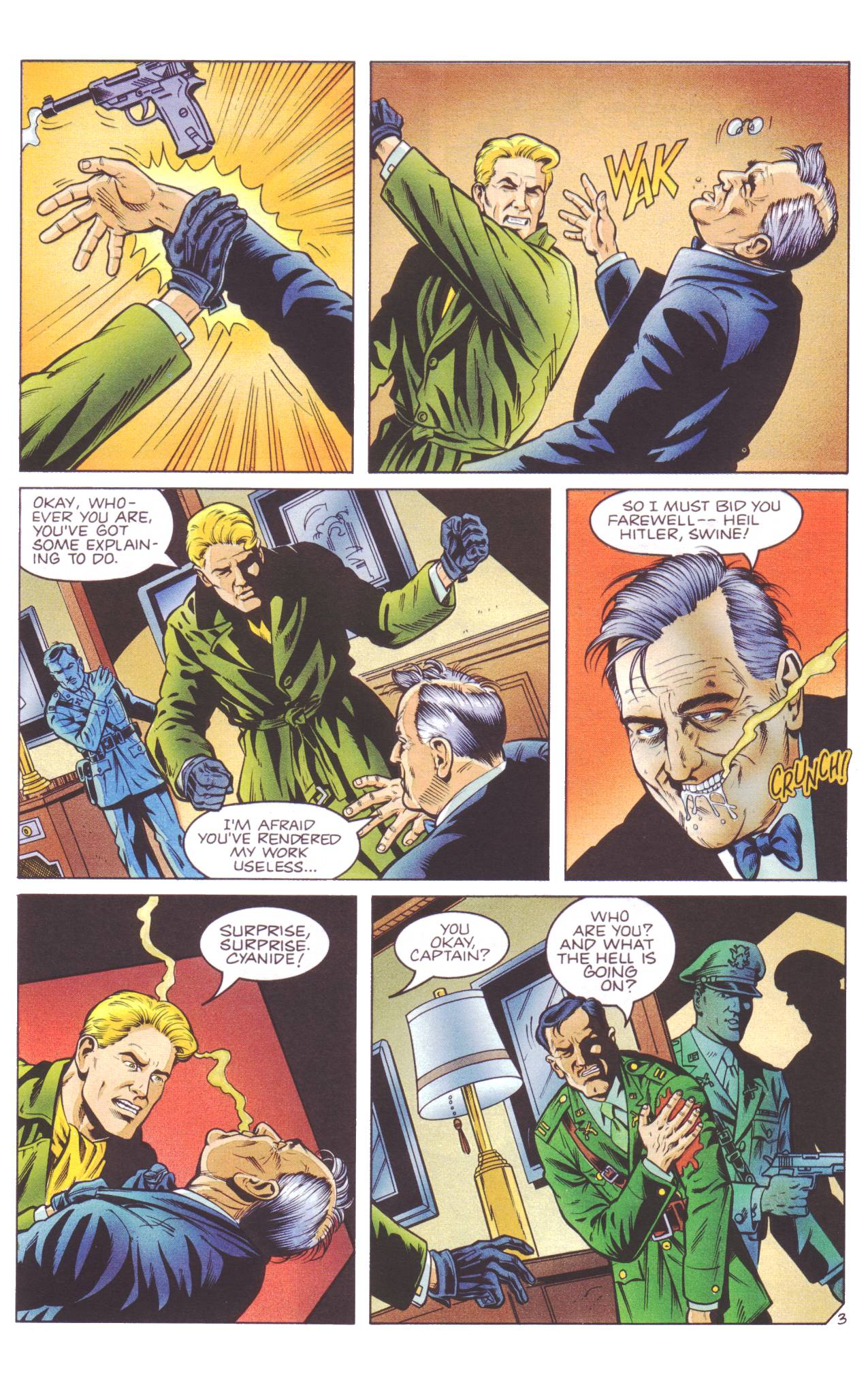 Read online Sting of The Green Hornet comic -  Issue #4 - 4
