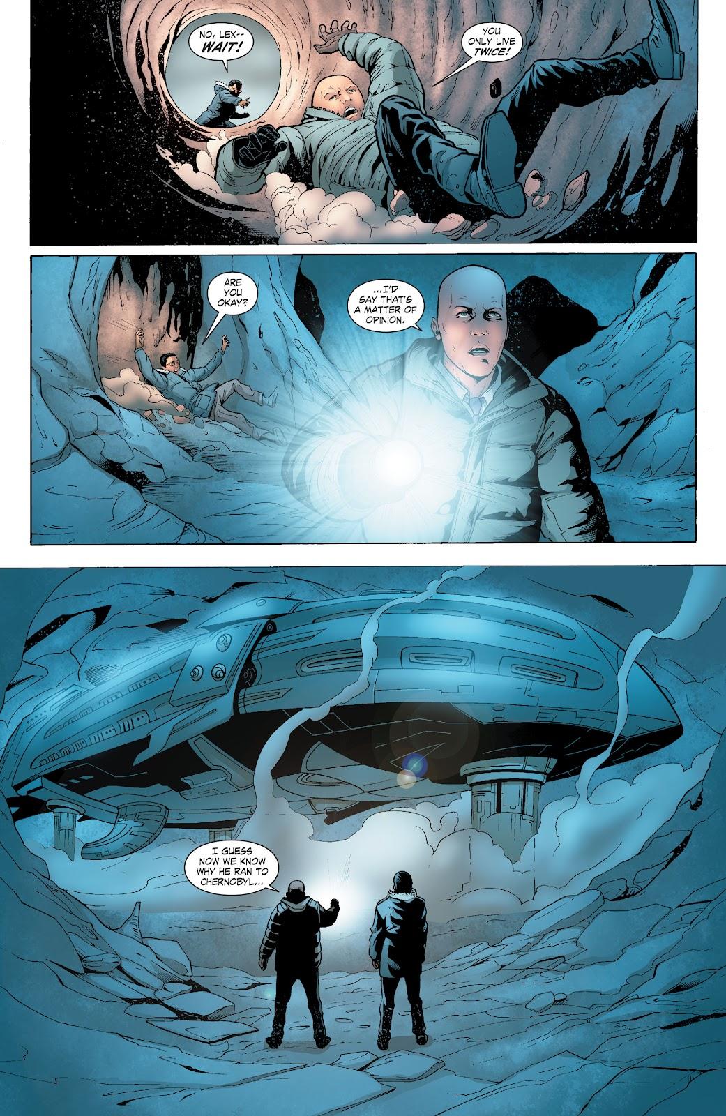 Read online Smallville Season 11 [II] comic -  Issue # TPB 6 - 122