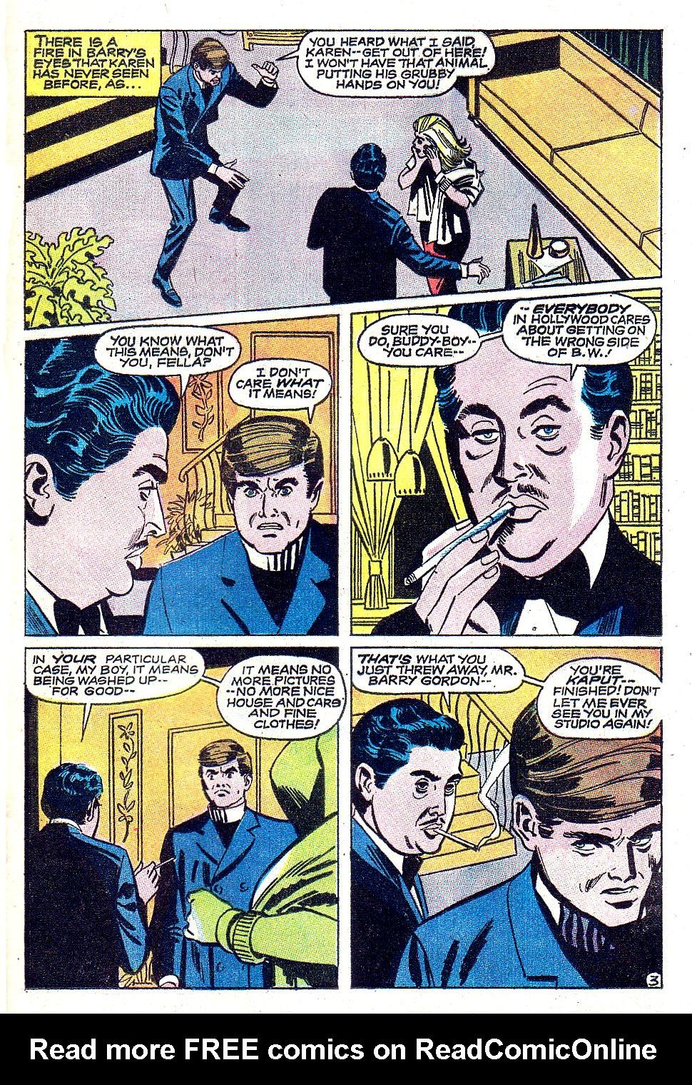 Read online Secret Hearts comic -  Issue #131 - 21