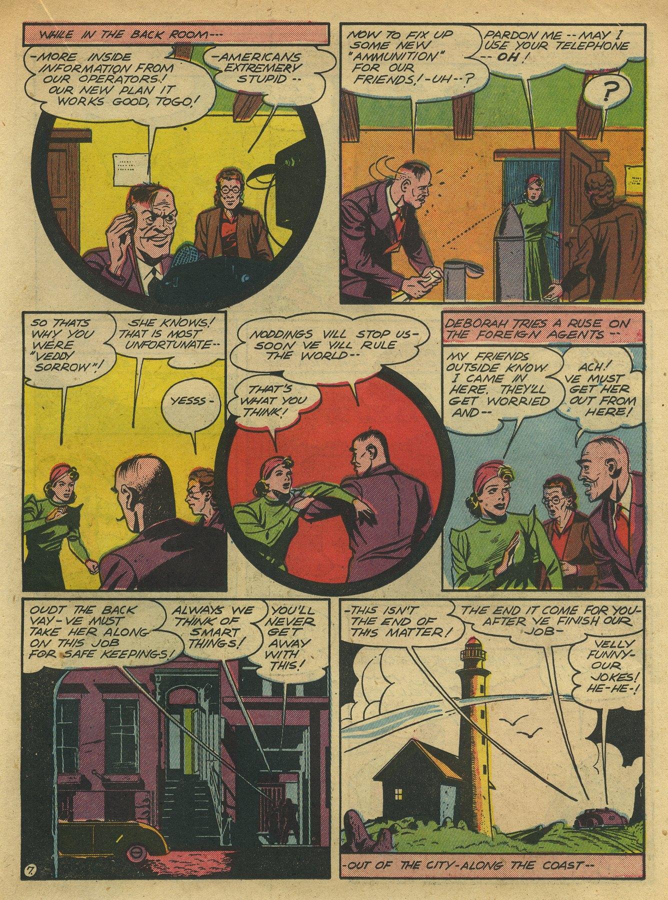 Read online Sensation (Mystery) Comics comic -  Issue #10 - 43