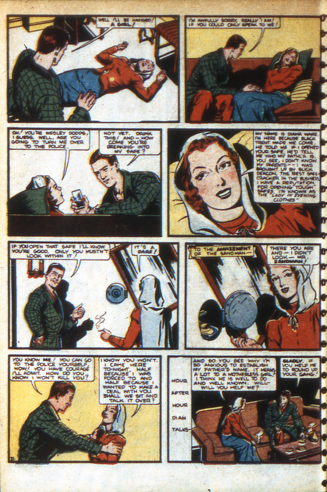 Read online Adventure Comics (1938) comic -  Issue #47 - 7
