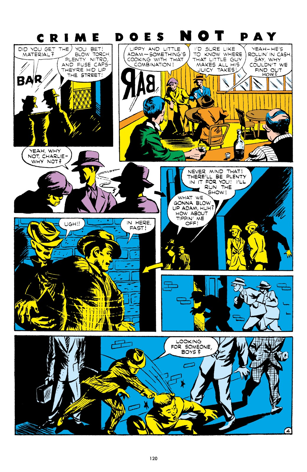 Read online Crime Does Not Pay Archives comic -  Issue # TPB 5 (Part 2) - 20