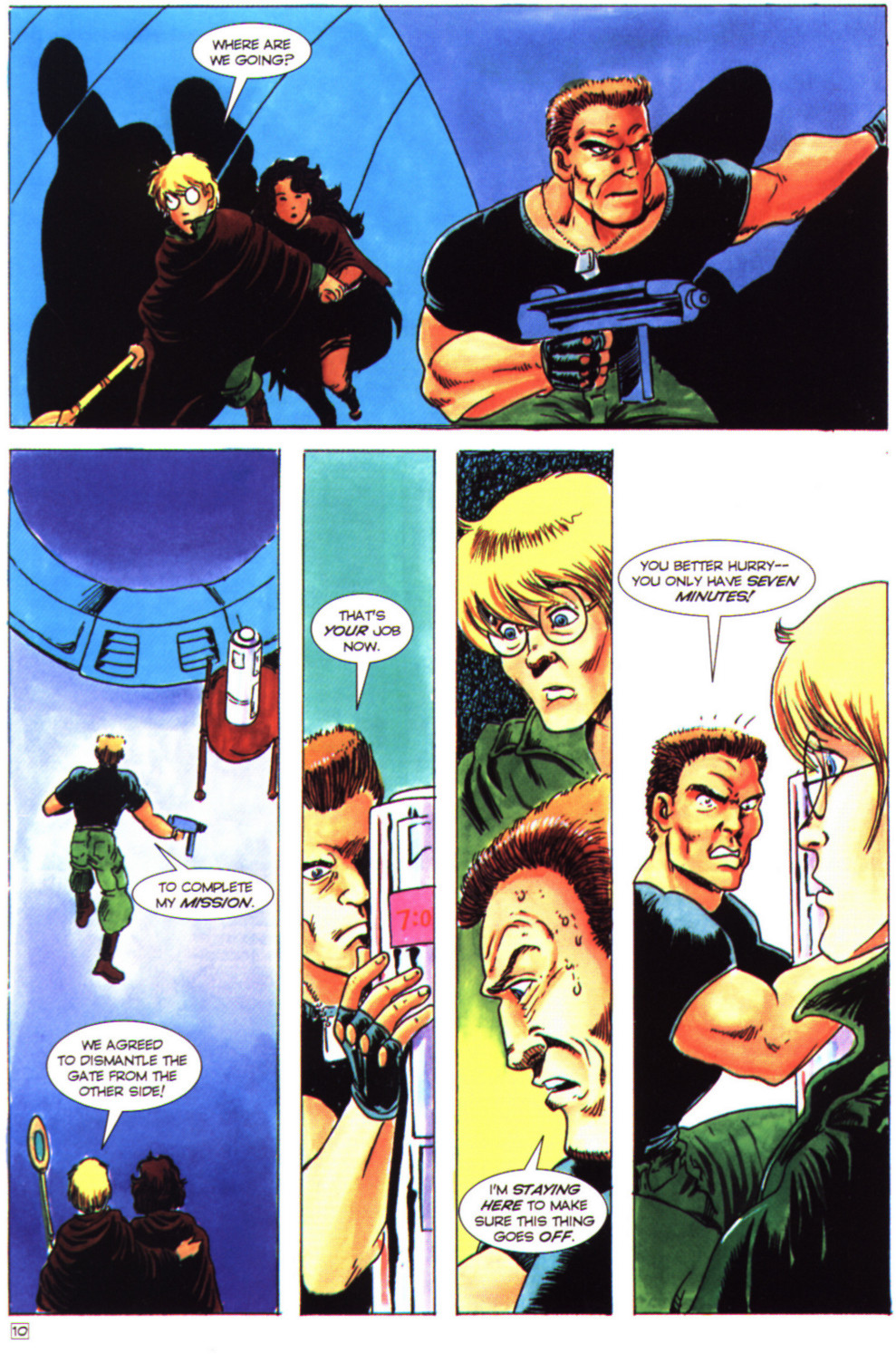 Read online Stargate comic -  Issue #4 - 12