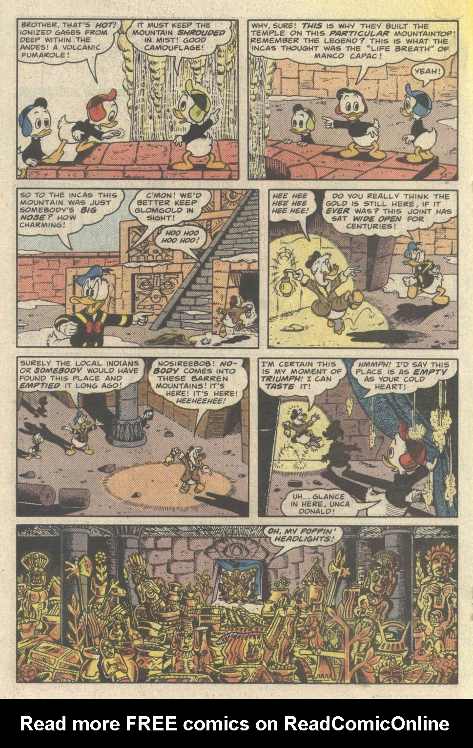 Read online Uncle Scrooge (1953) comic -  Issue #219 - 18