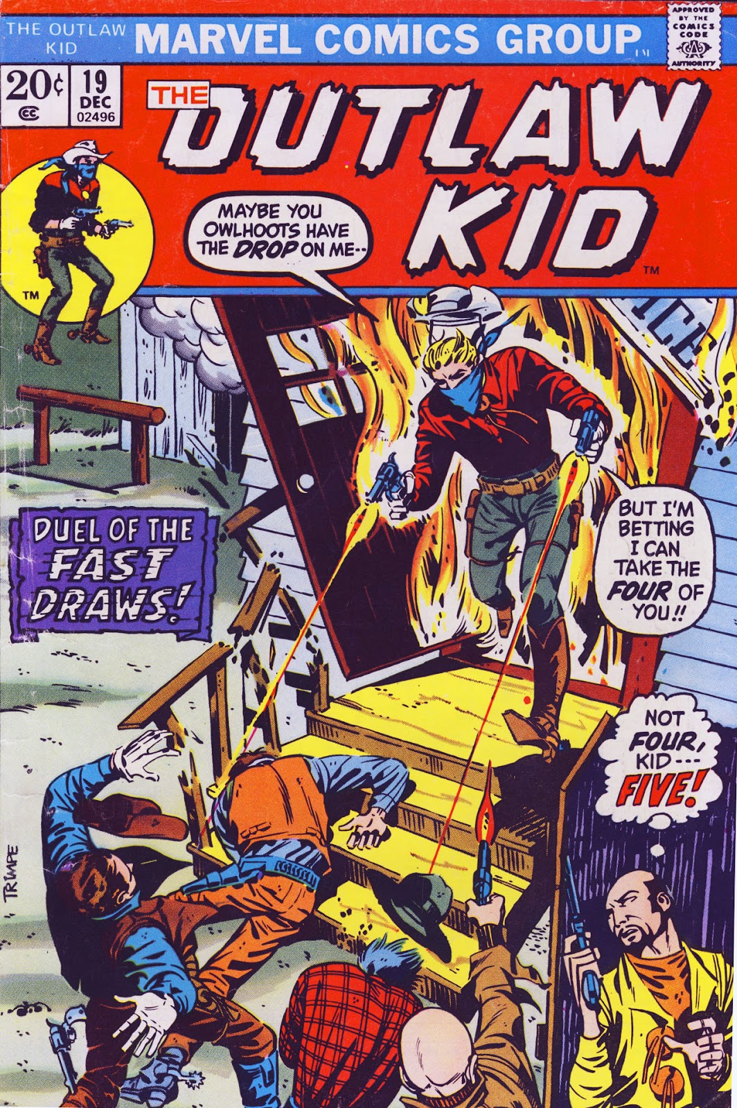 The Outlaw Kid (1970) issue 19 - Page 1