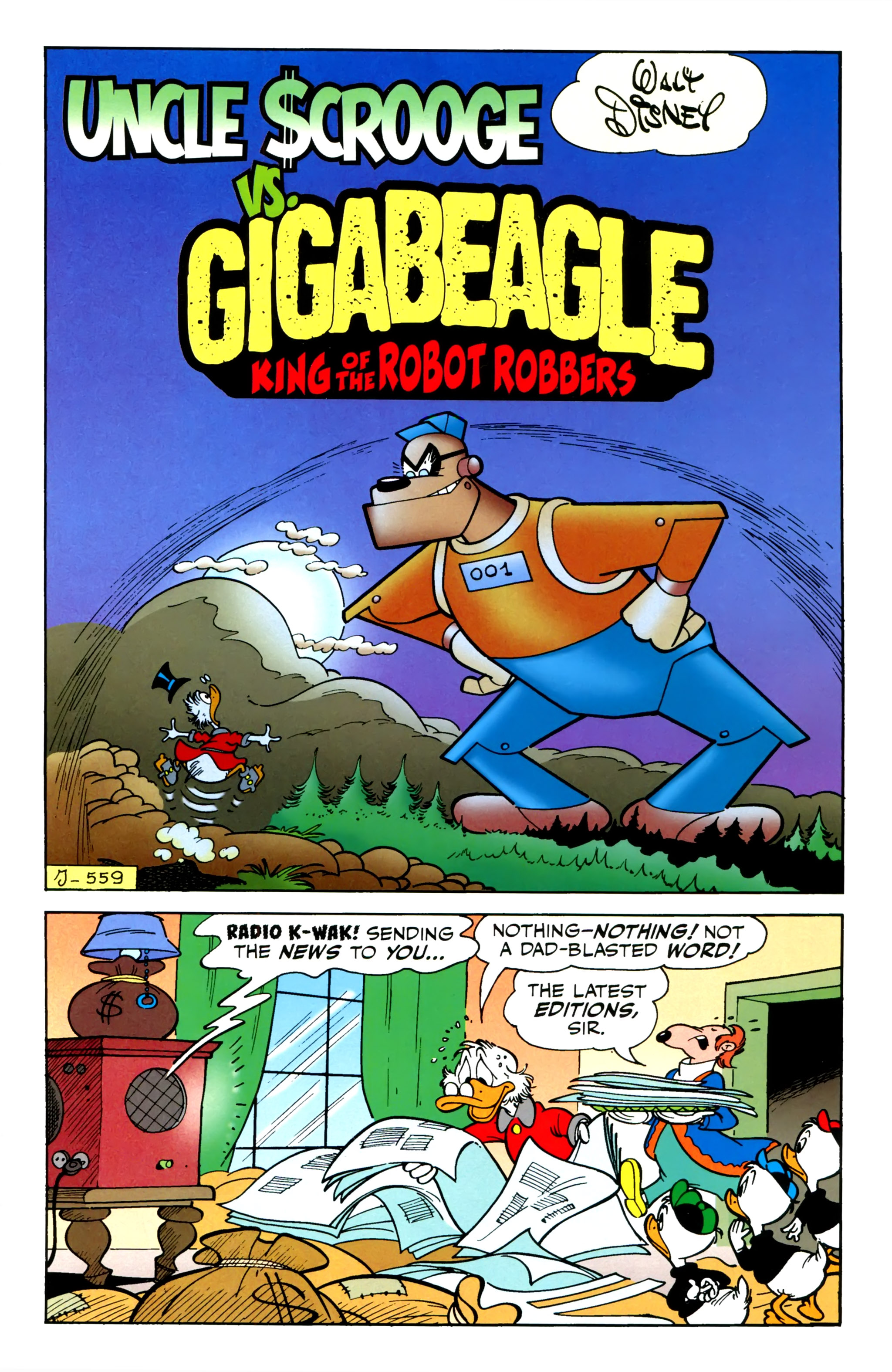 Read online Uncle Scrooge (2015) comic -  Issue #1 - 3