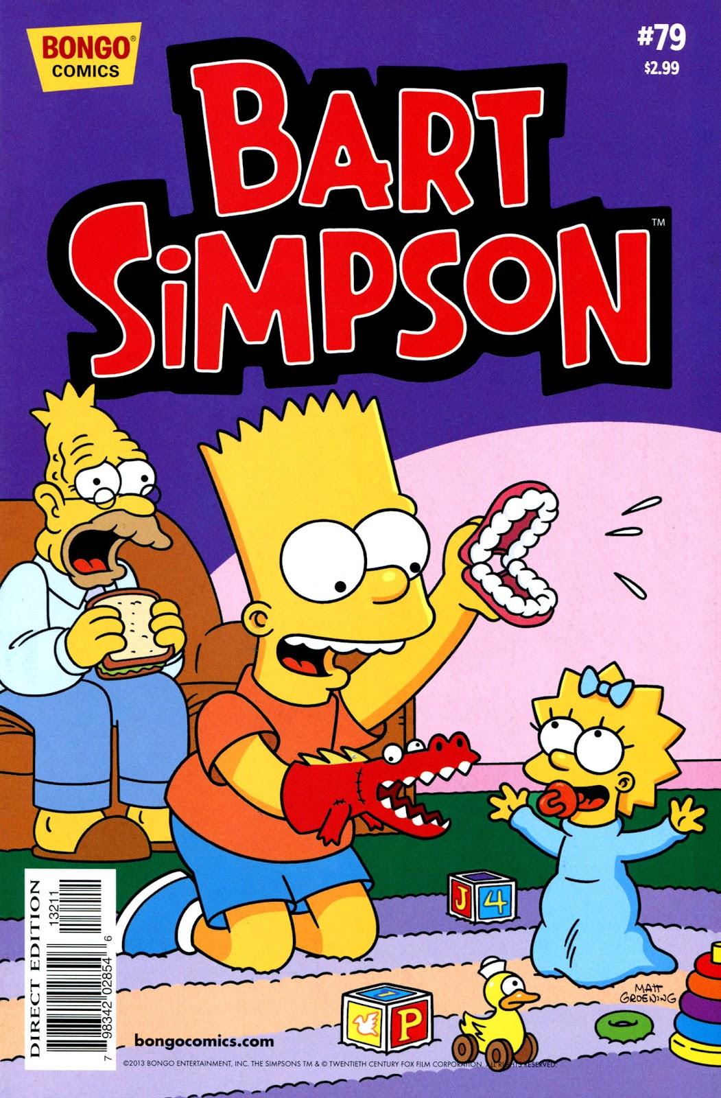 Simpsons Comics Presents Bart Simpson 79 Page 1
