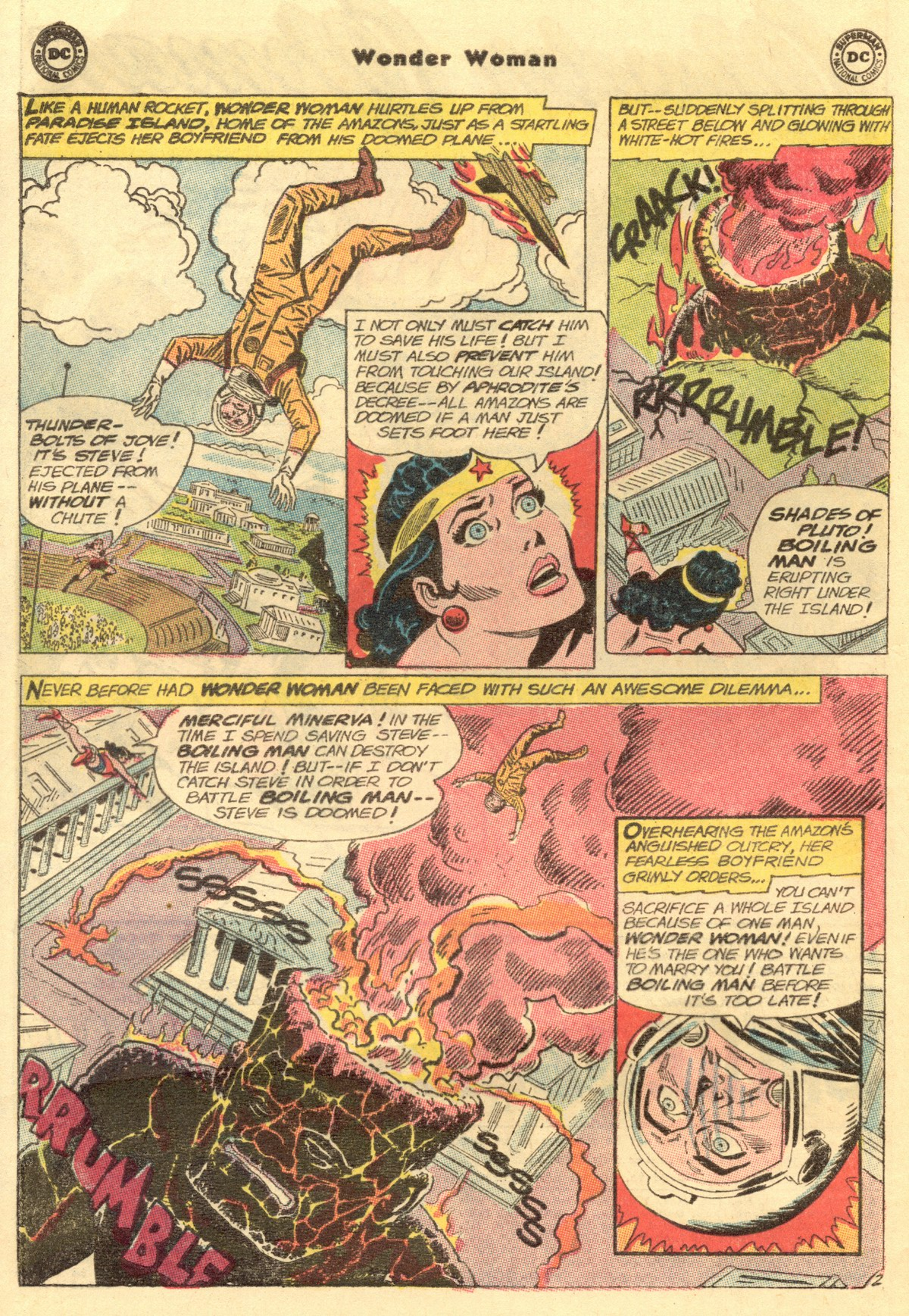 Read online Wonder Woman (1942) comic -  Issue #154 - 4