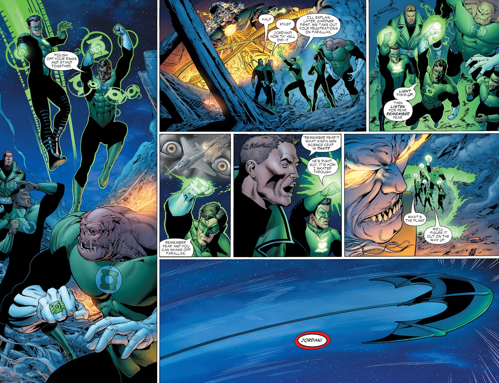 Read online Green Lantern by Geoff Johns comic -  Issue # TPB 1 (Part 2) - 31