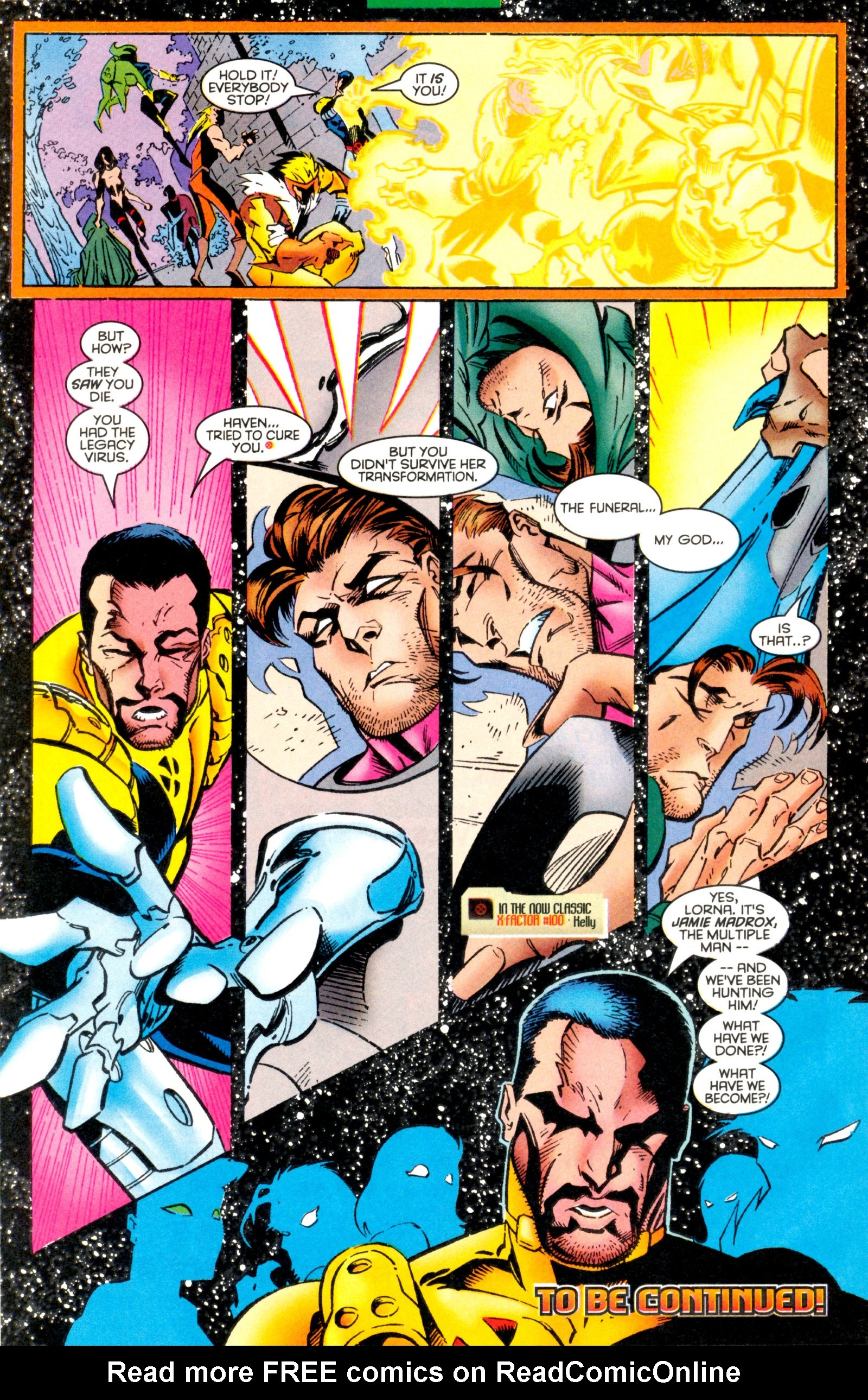 Read online X-Factor (1986) comic -  Issue #128 - 28