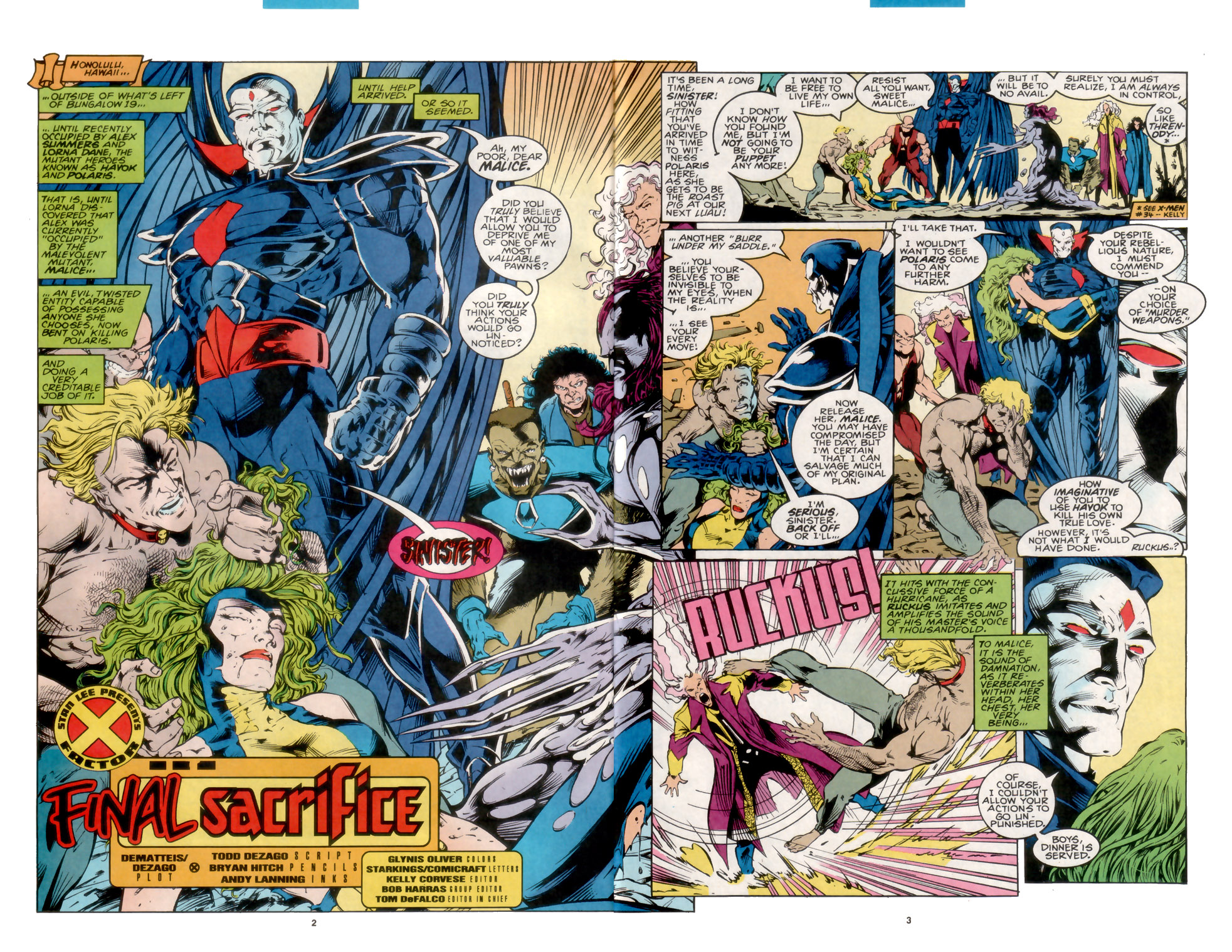 Read online X-Factor (1986) comic -  Issue #105 - 3