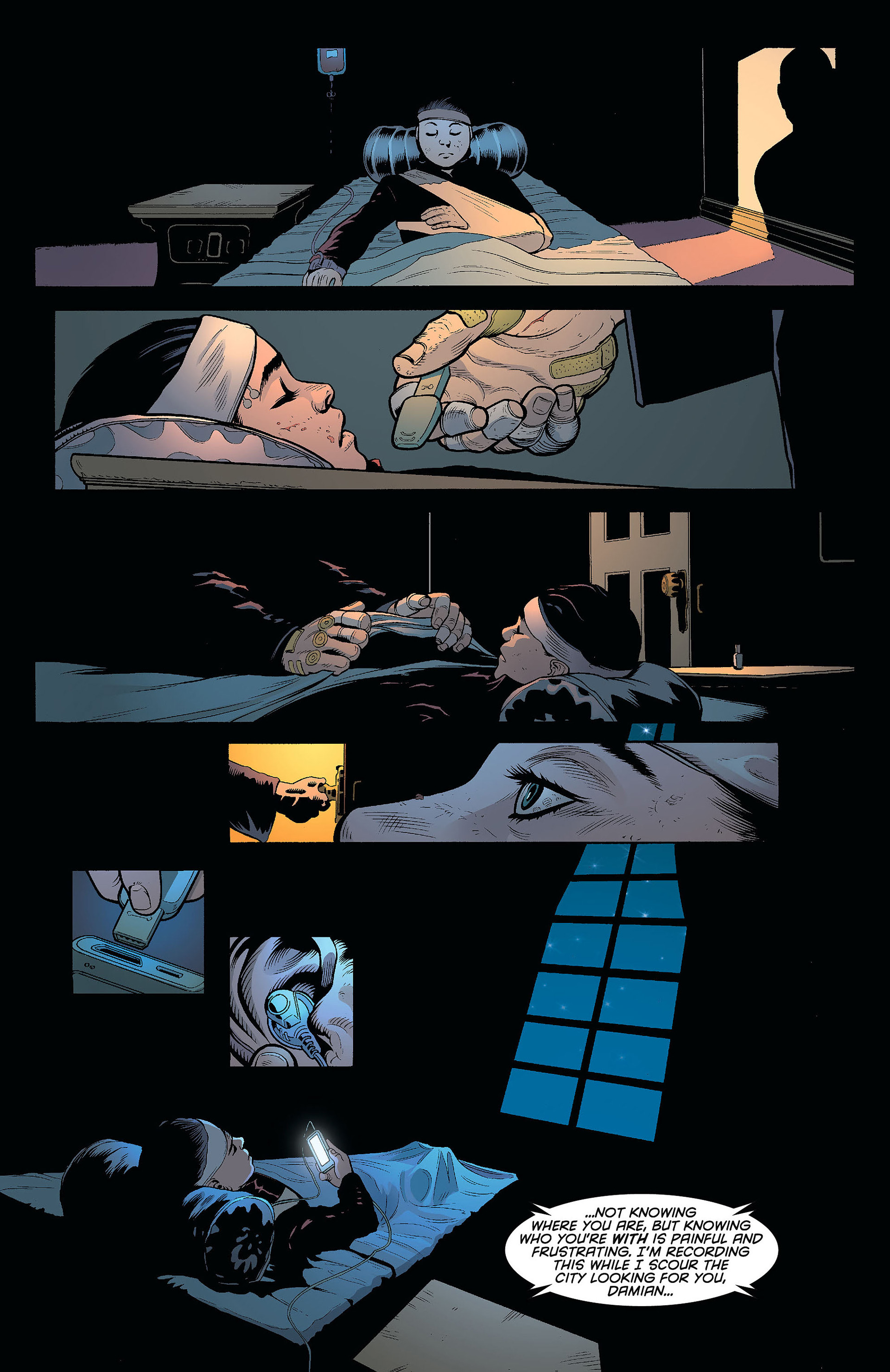 Read online Batman and Robin (2011) comic -  Issue #8 - 12