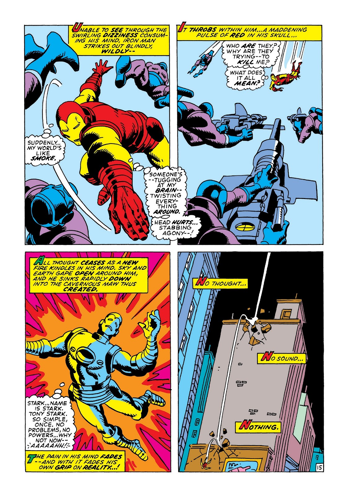 Read online Marvel Masterworks: The Invincible Iron Man comic -  Issue # TPB 8 (Part 1) - 21