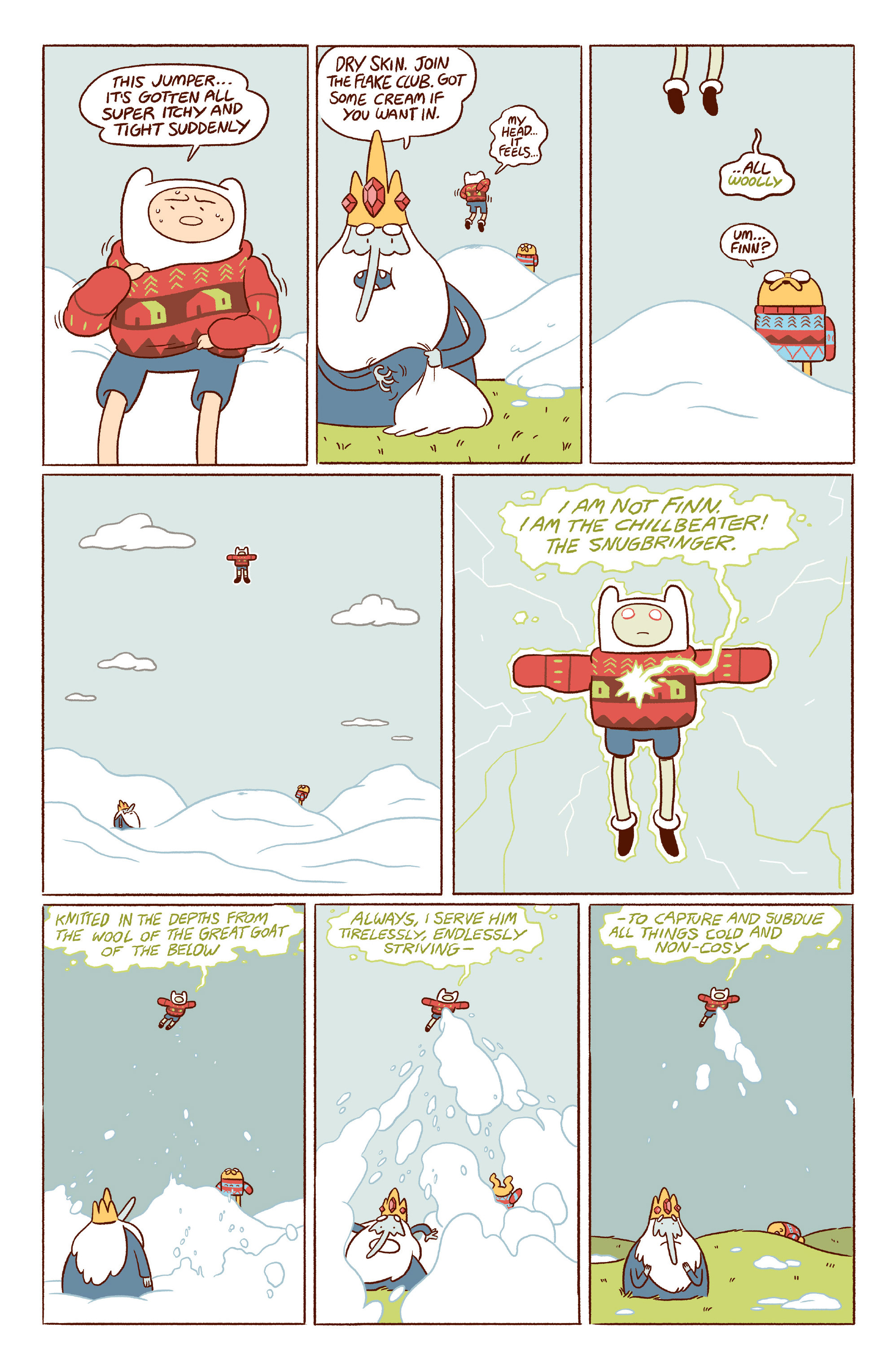 Read online Adventure Time 2014 Winter Special comic -  Issue #Adventure Time 2014 Winter Special Full - 10