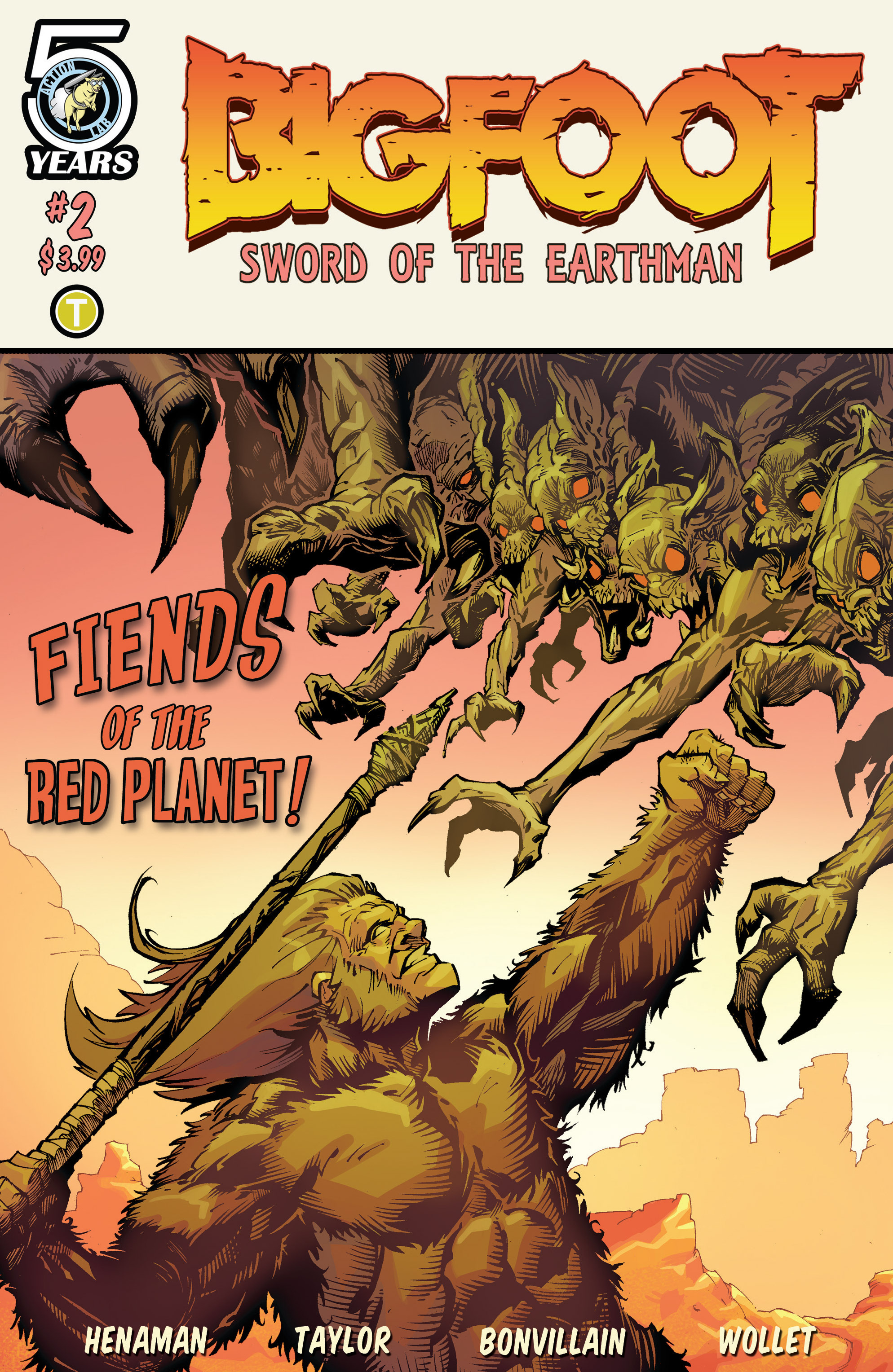 Bigfoot - Sword of the Earthman (2015) issue 2 - Page 1