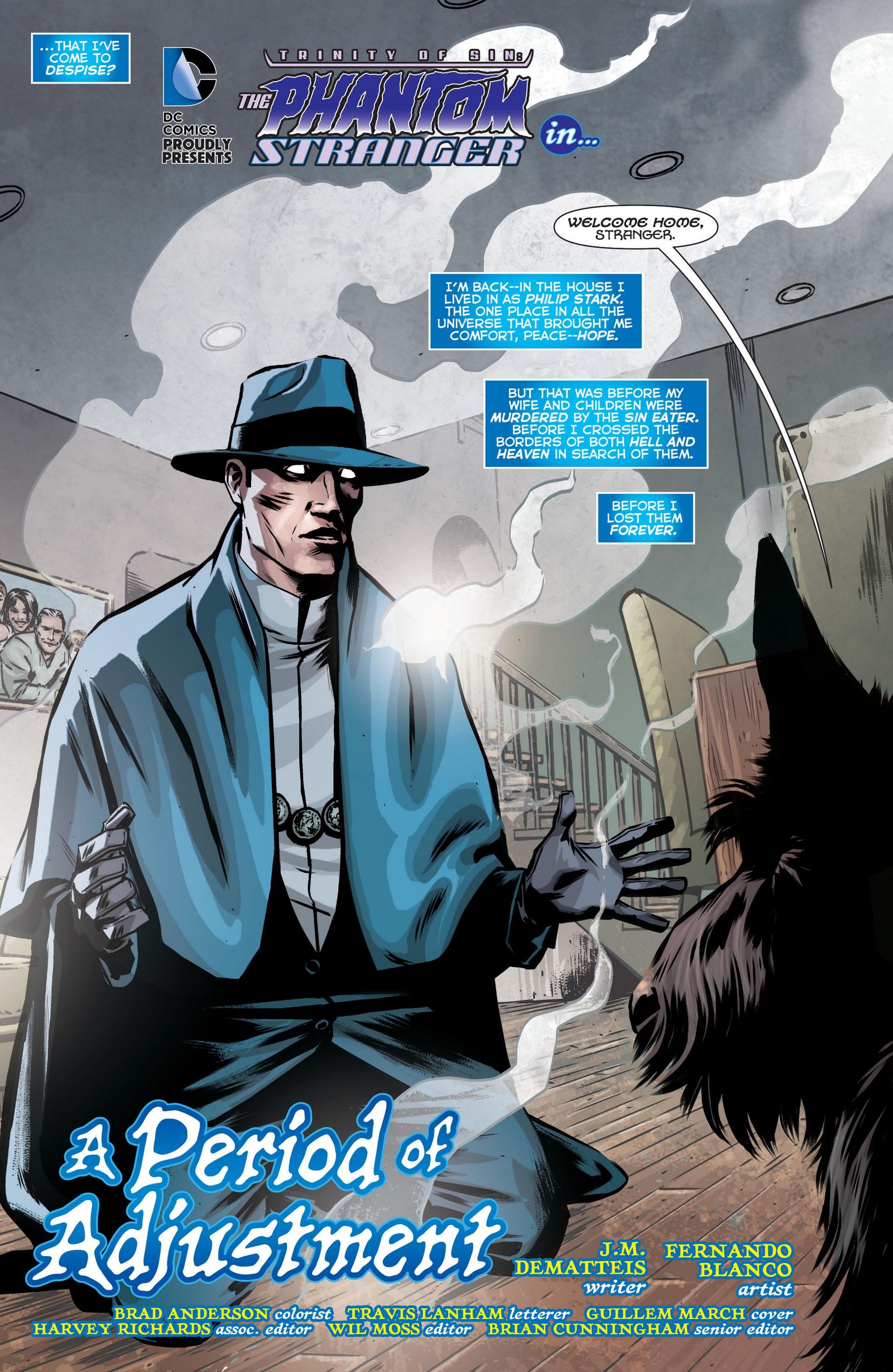 Read online Trinity of Sin: The Phantom Stranger comic -  Issue #12 - 4