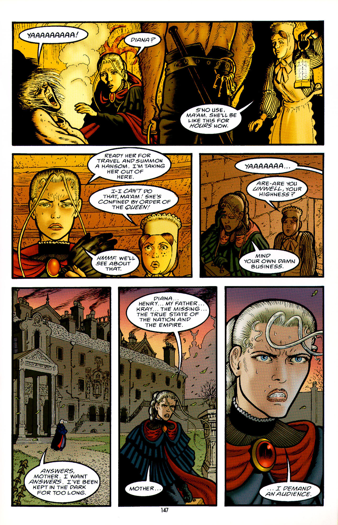 Read online Heart of Empire comic -  Issue #5 - 23