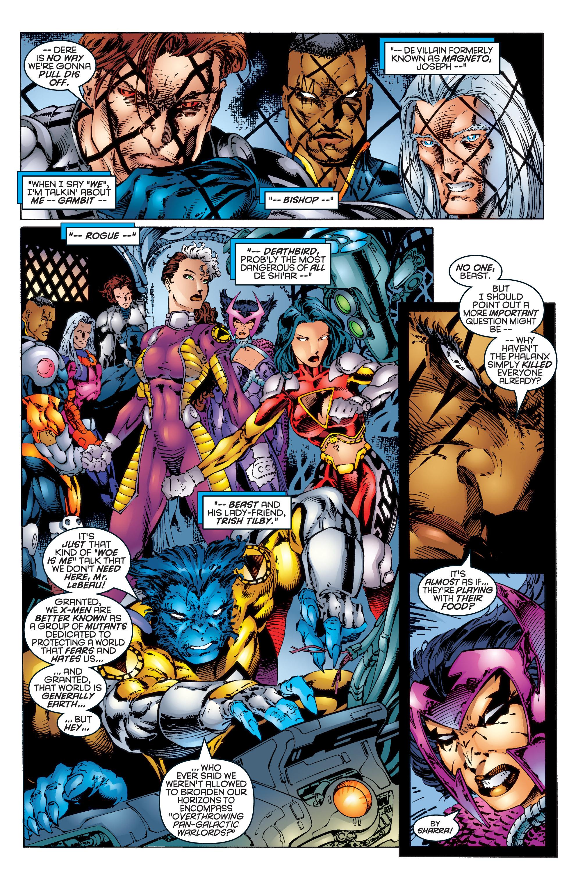 Read online Uncanny X-Men (1963) comic -  Issue #344 - 4