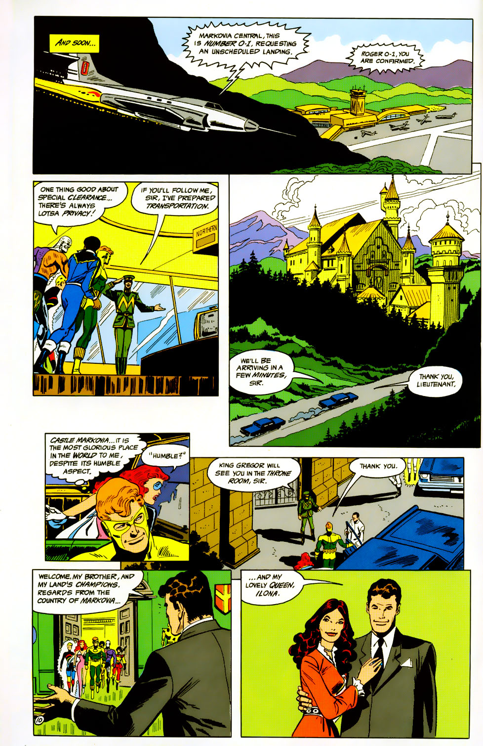 Read online Adventures of the Outsiders comic -  Issue #42 - 11
