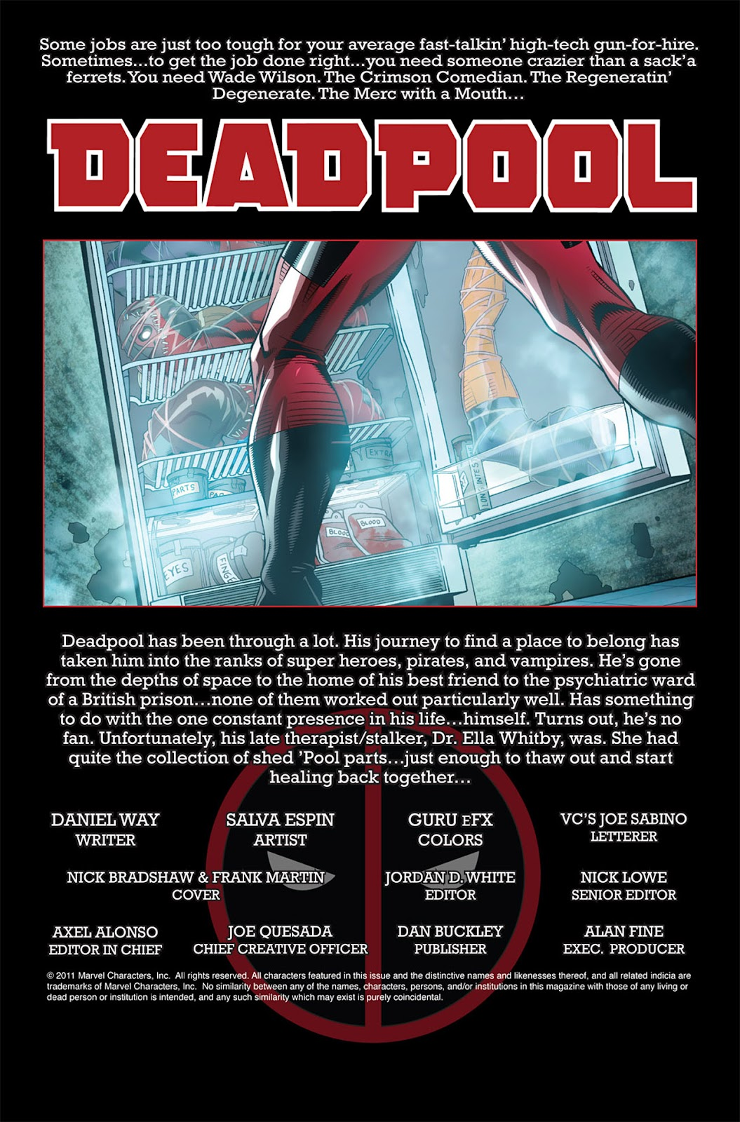 Read online Deadpool (2008) comic -  Issue #45 - 2