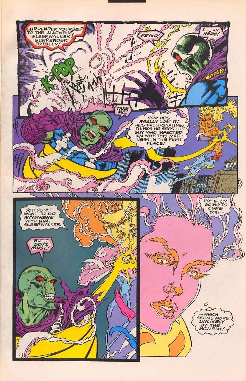 Read online Sleepwalker comic -  Issue #32 - 7