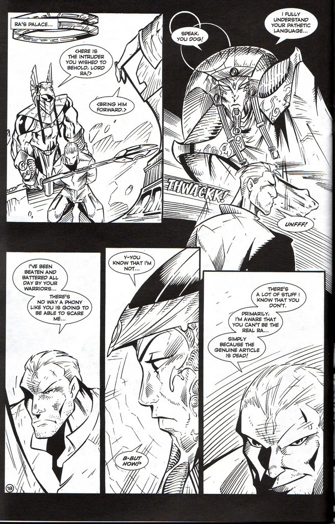 Read online Stargate: One Nation Under Ra comic -  Issue # Full - 20
