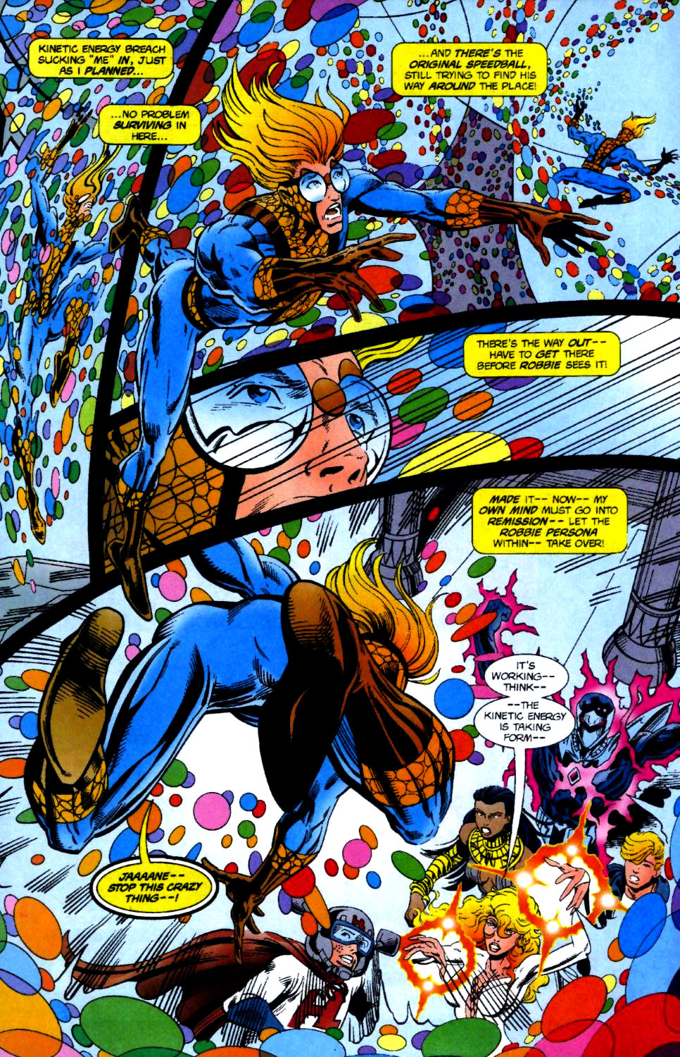 The New Warriors Issue #70 #74 - English 16