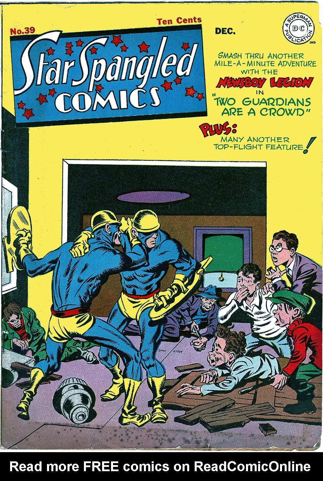 Star Spangled Comics (1941) 39 Page 1