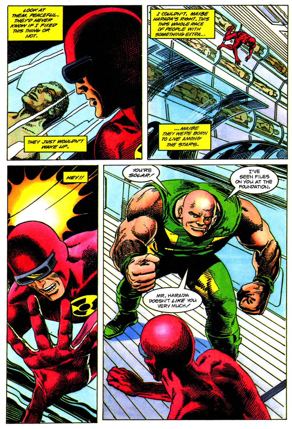 Read online Solar, Man of the Atom comic -  Issue #41 - 16