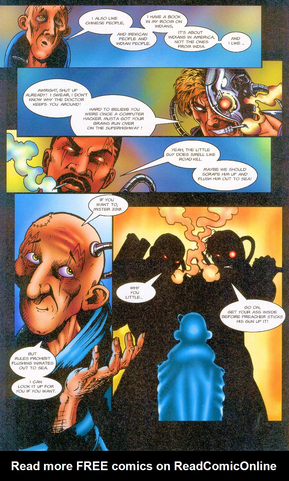 Read online Sisters of Mercy comic -  Issue #1 - 18