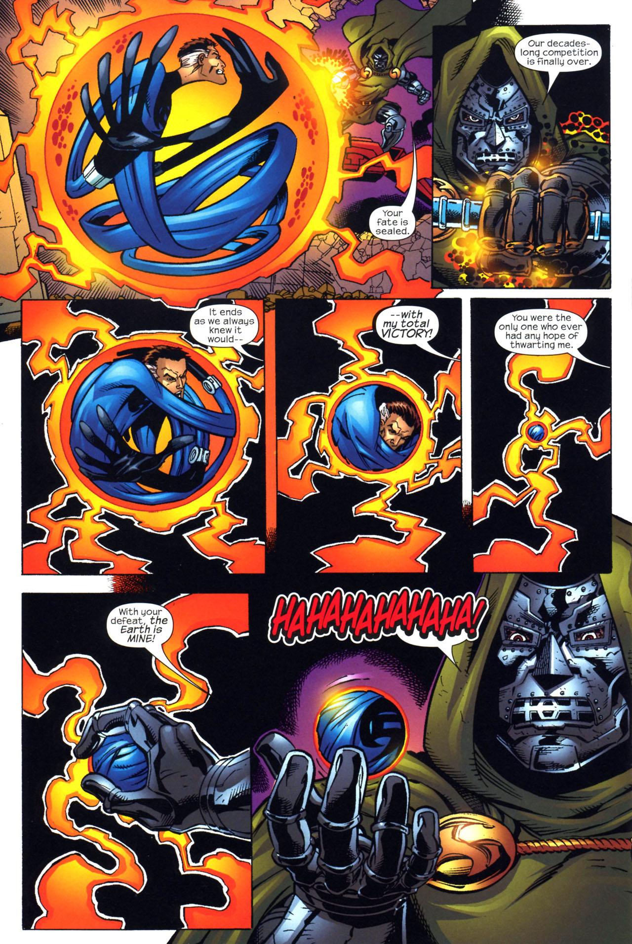 Read online Fantastic Five (2007) comic -  Issue #2 - 20