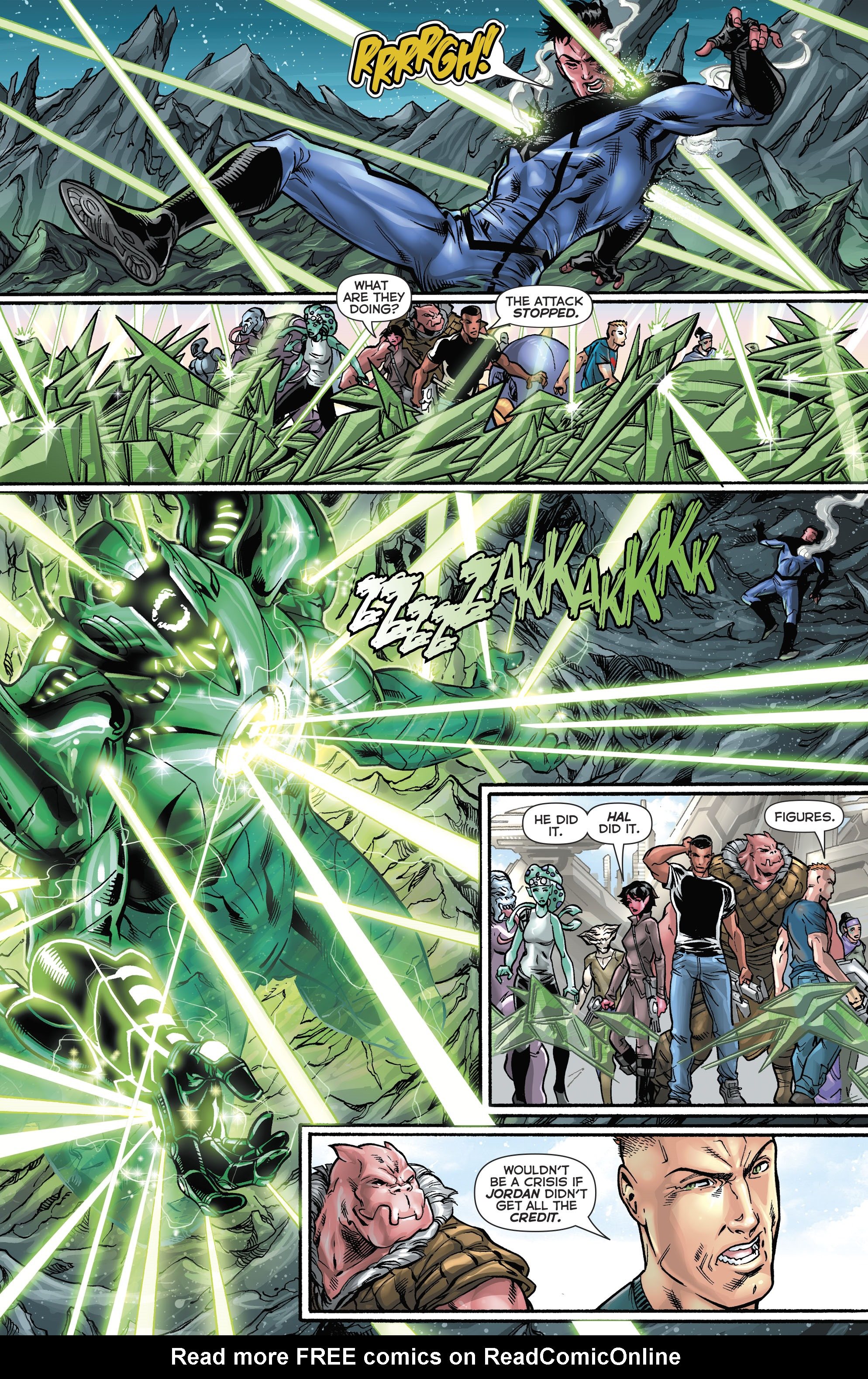 Read online Hal Jordan And The Green Lantern Corps comic -  Issue #21 - 19